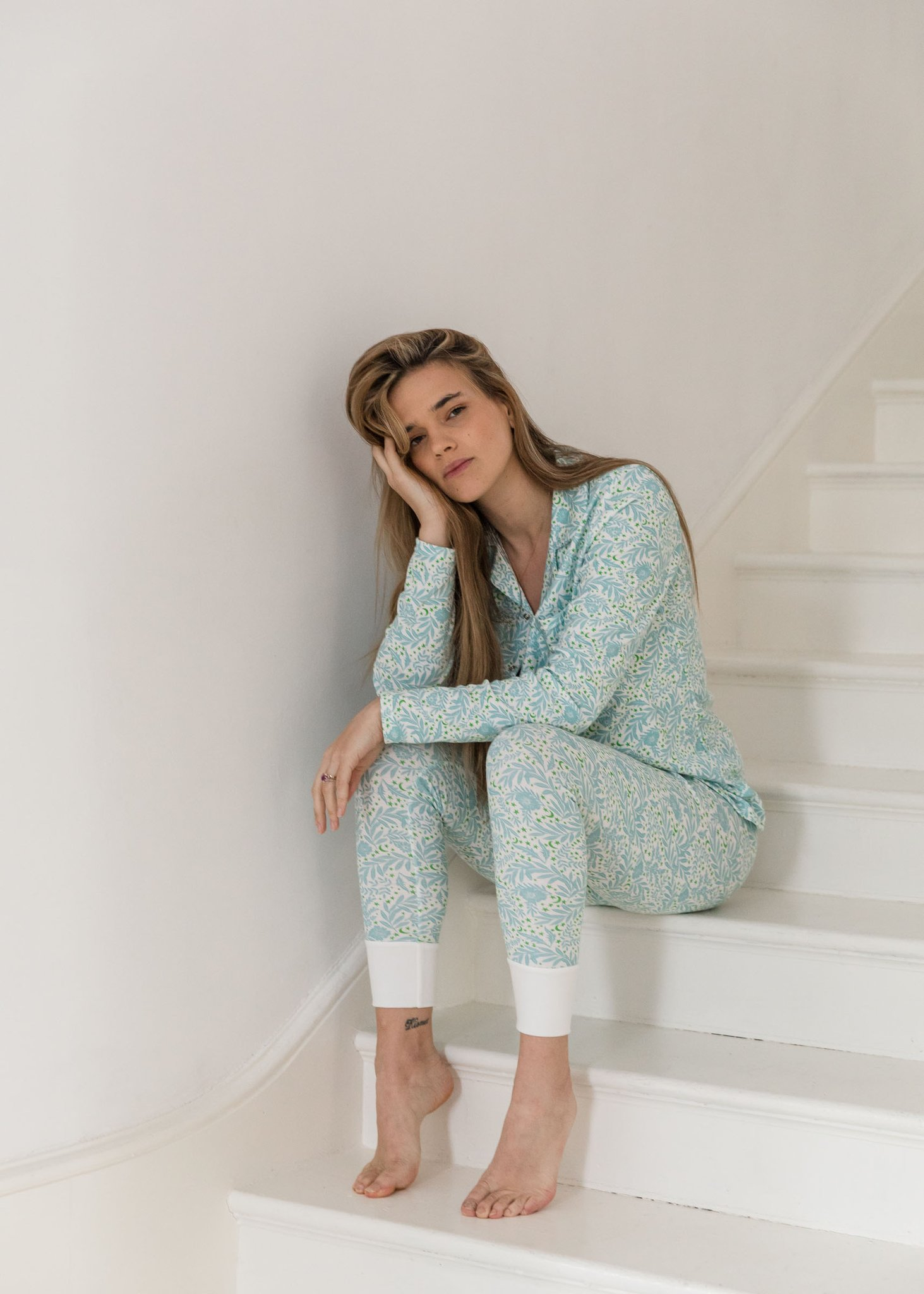 Sleepy Doe - Mumma Collar PJ set