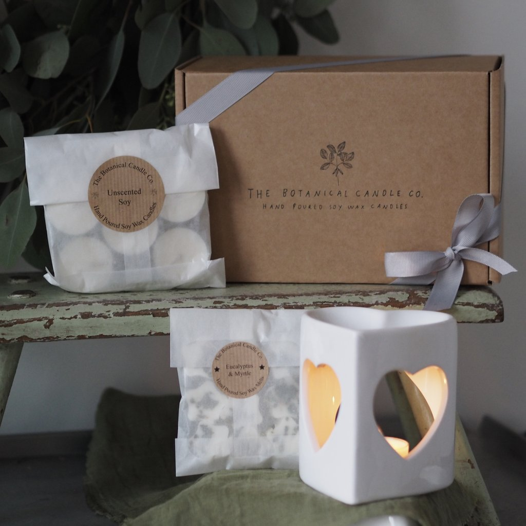 The Botanical Candle Co - Soy Wax Melt gift box