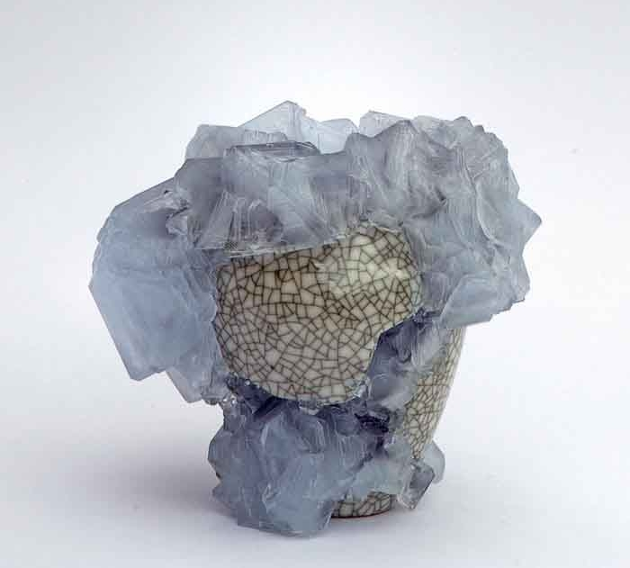 Lukas Wegwerth. Crystallization Vase. Photo Courtesy of Gallery Fumi