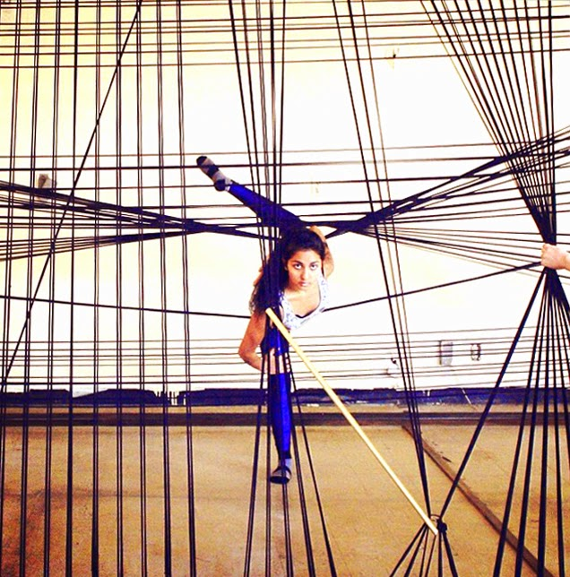 Tanya Aguiniga & Mash-up Contemporary Dance Performance/collaboration from June 2014. Image courtesy of the The Radder.