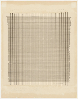 Tremolo, 1962, Gouache on Paper   © 2015 Estate of Agnes Martin / Artists Rights Society (ARS), New York