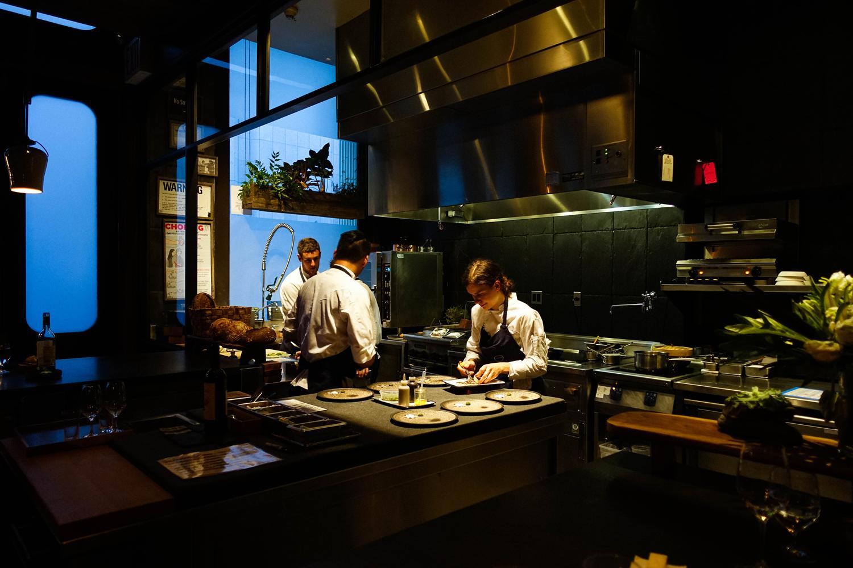 Chefs preparing