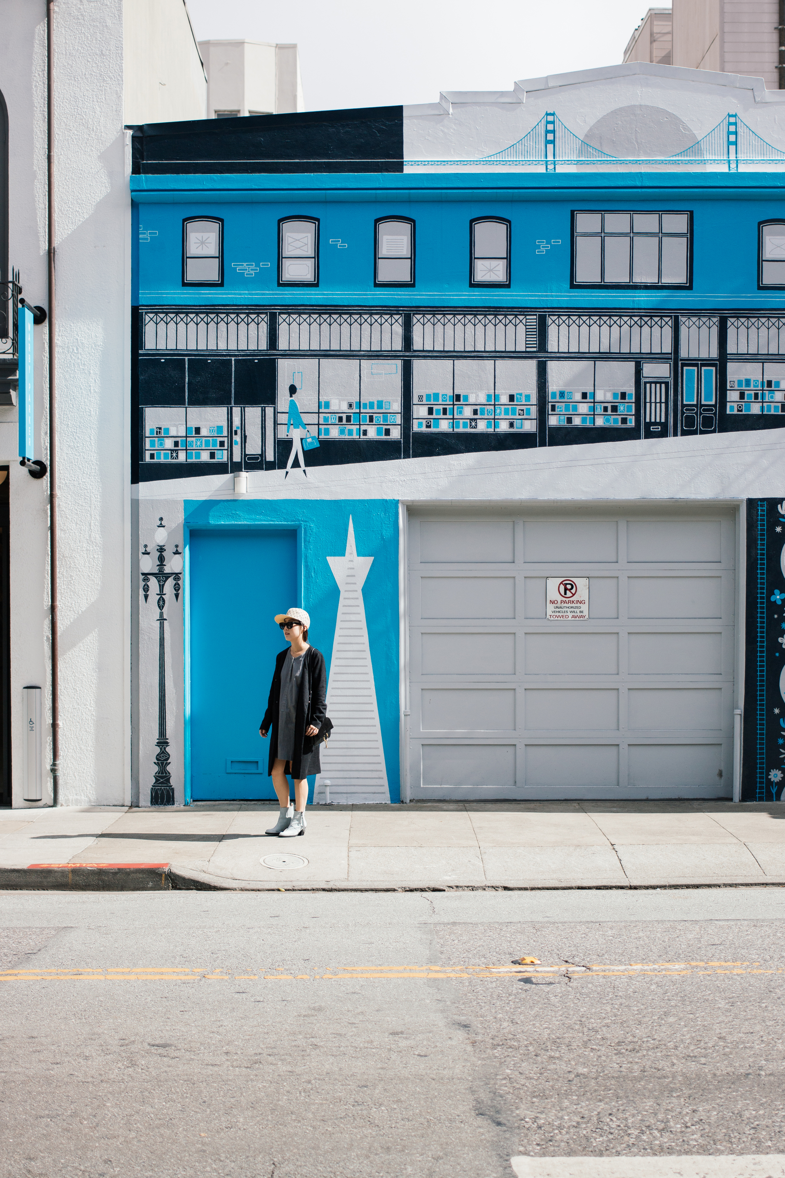 Warby Parker  Mural on Hayes Street