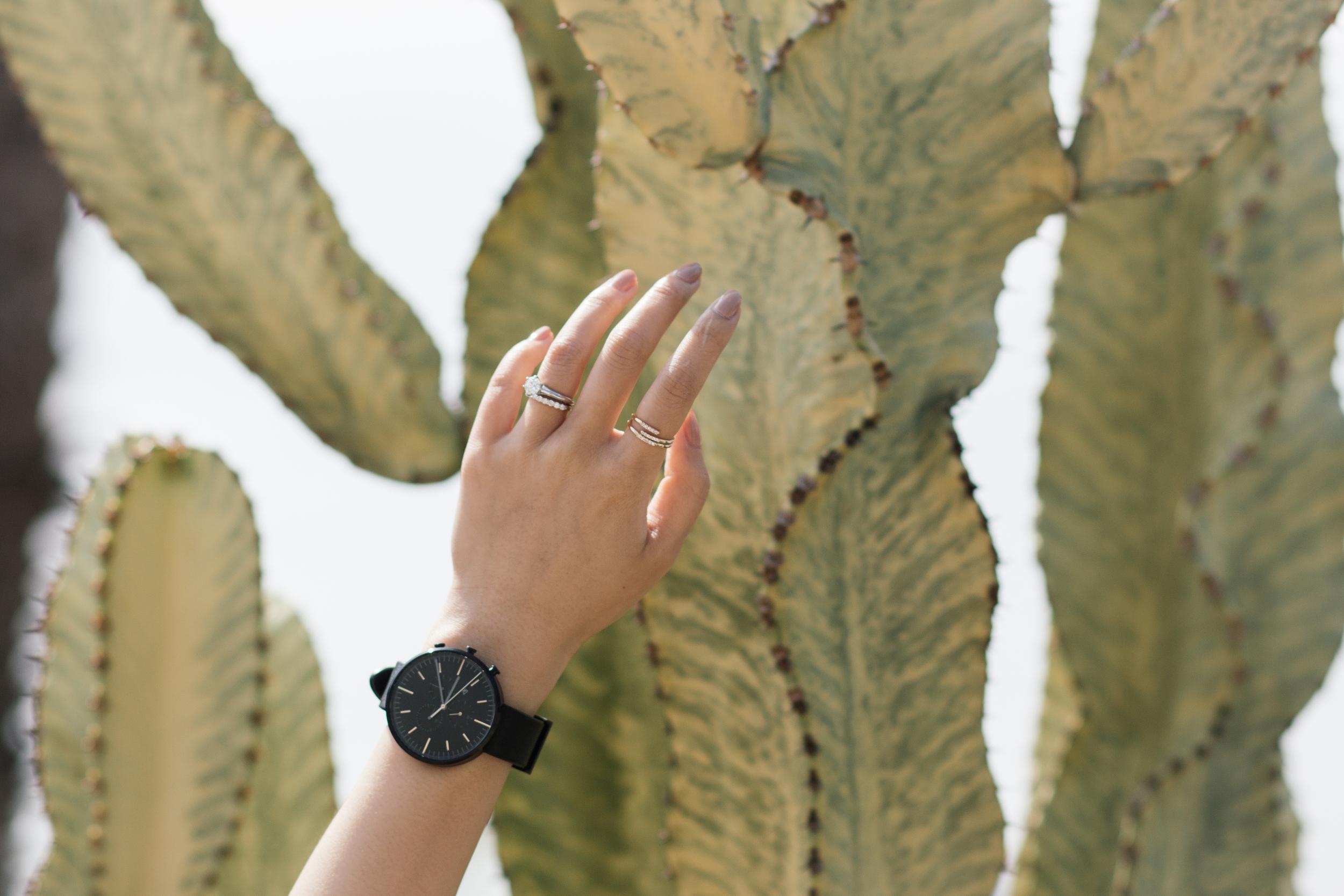 Uniformwares Watch ,  Euna Joyce Rings