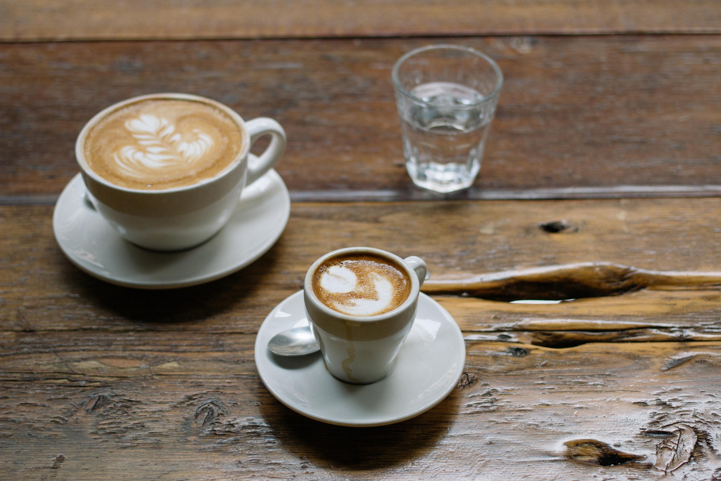 Coffee break at  Bow Truss