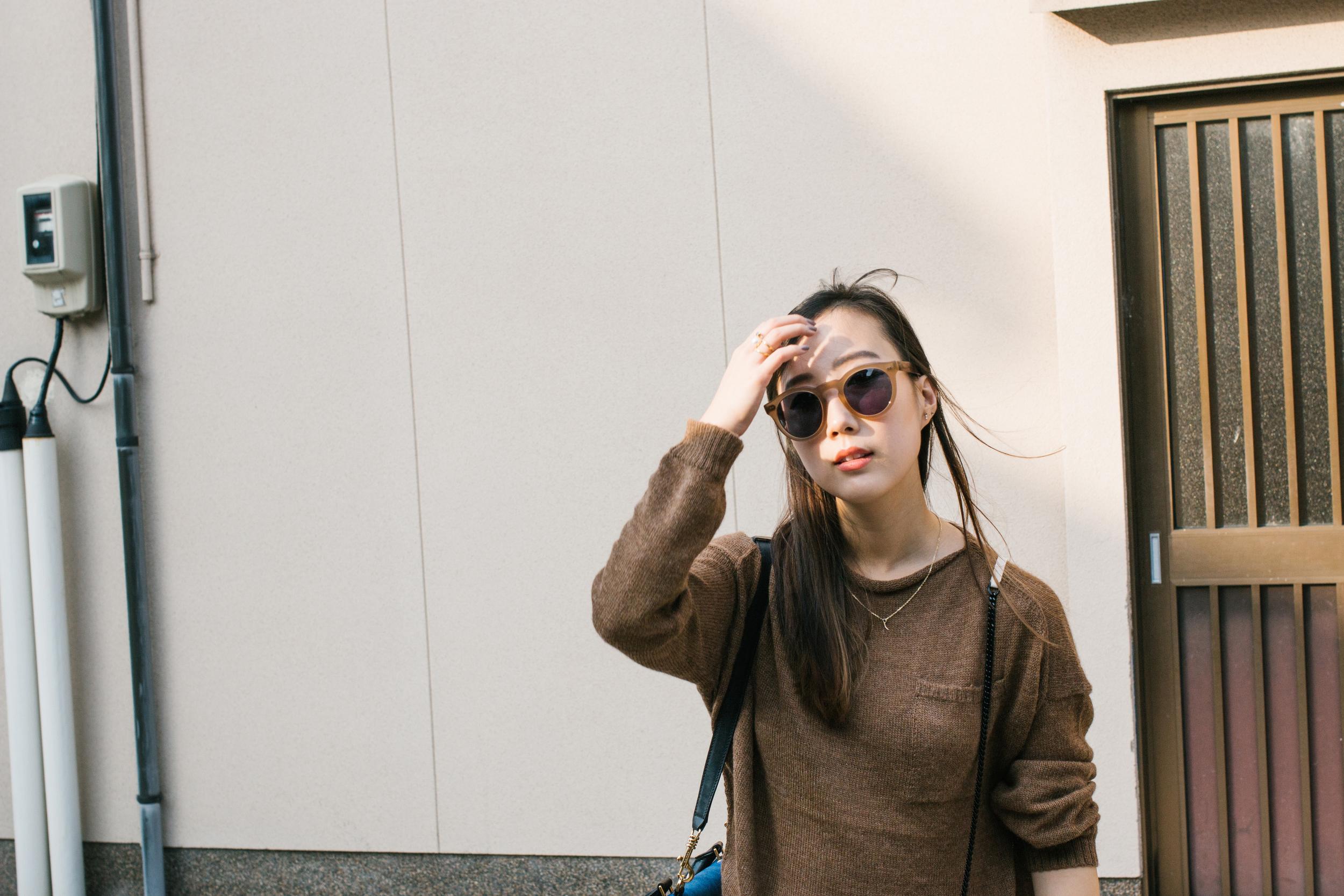 Pas de Calais  Top  and  Pants ,  Isabel Marant Shoes , Céline Bag, Saint Laurent Bag and Hat,  Cutler and Gross Sunglasses ,  Mirlo Jewelry