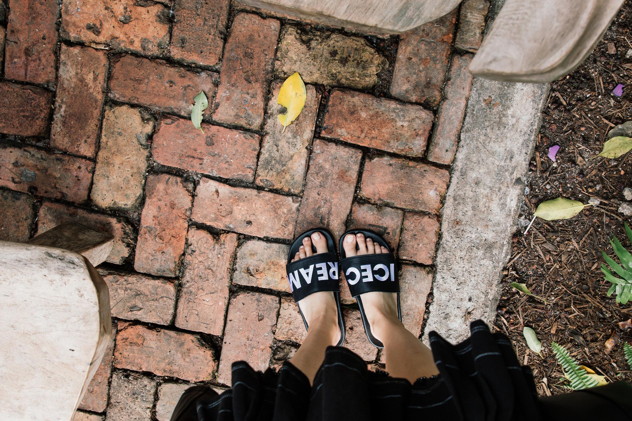 Adidas Originals Customized Sandals