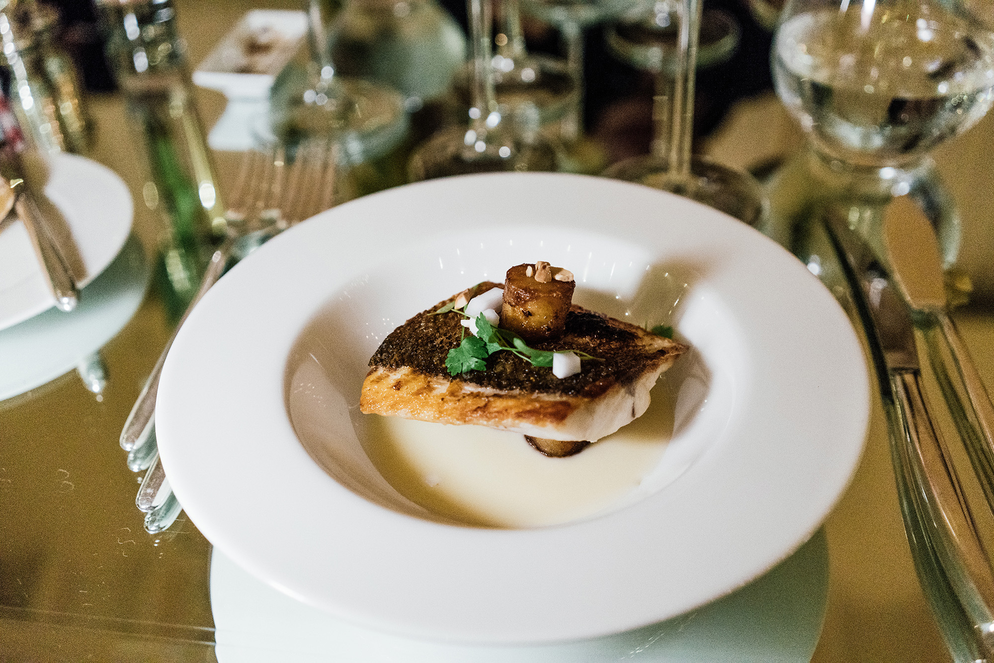 Chef Patrick O'Donnell  x  Chef Gianluca Re Fraschini  Grand Dinner