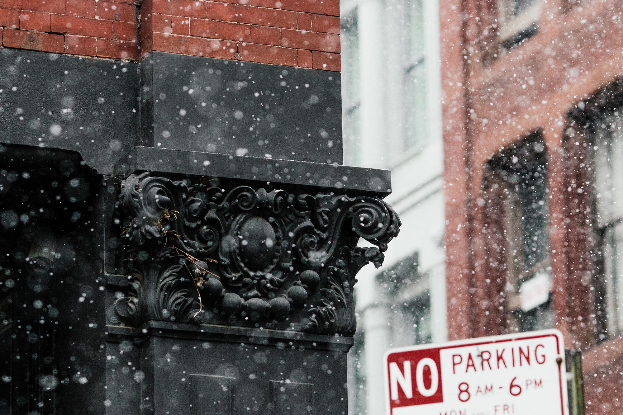 Last snow day in SoHo