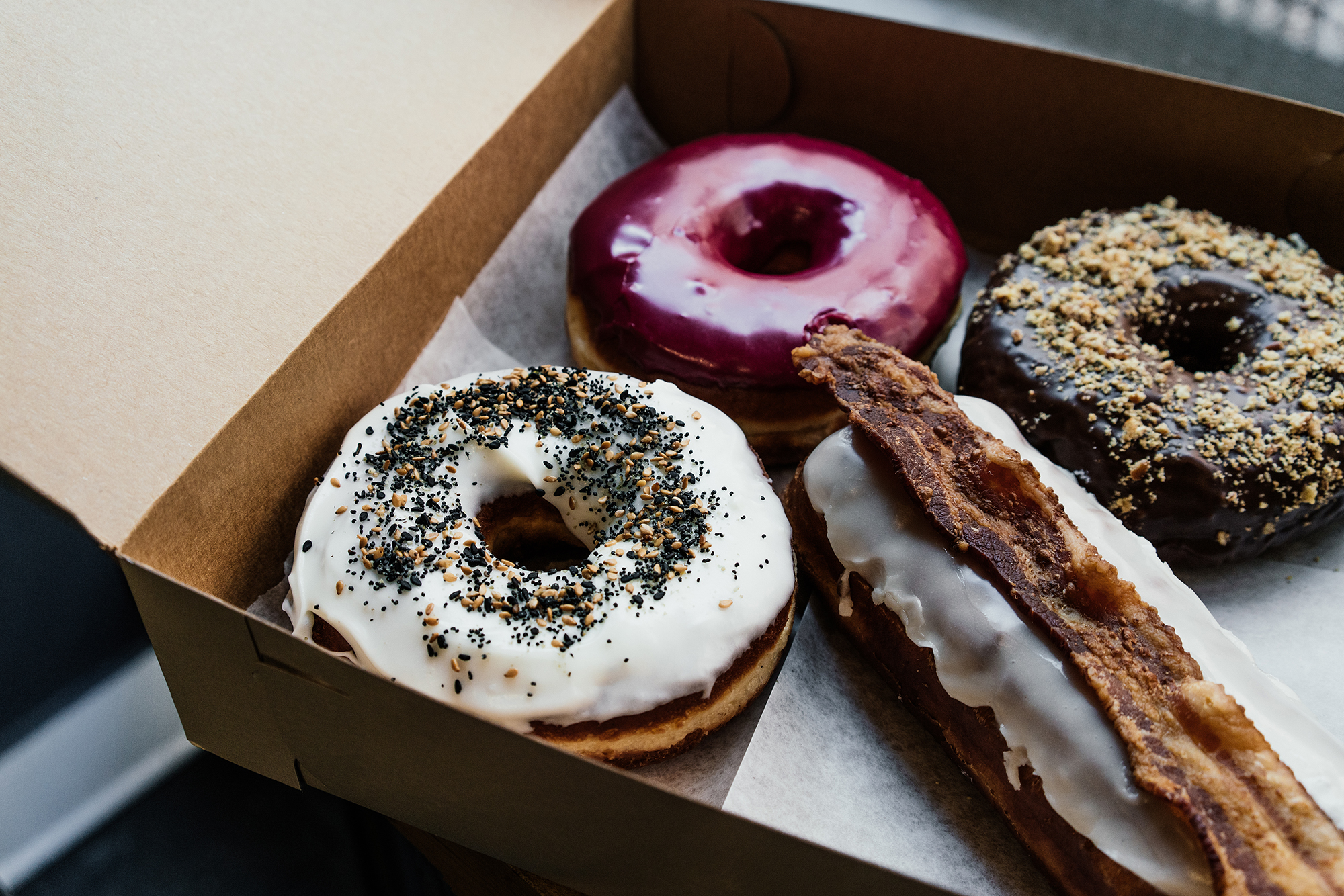 Gourmet donuts at  The Doughnut Project