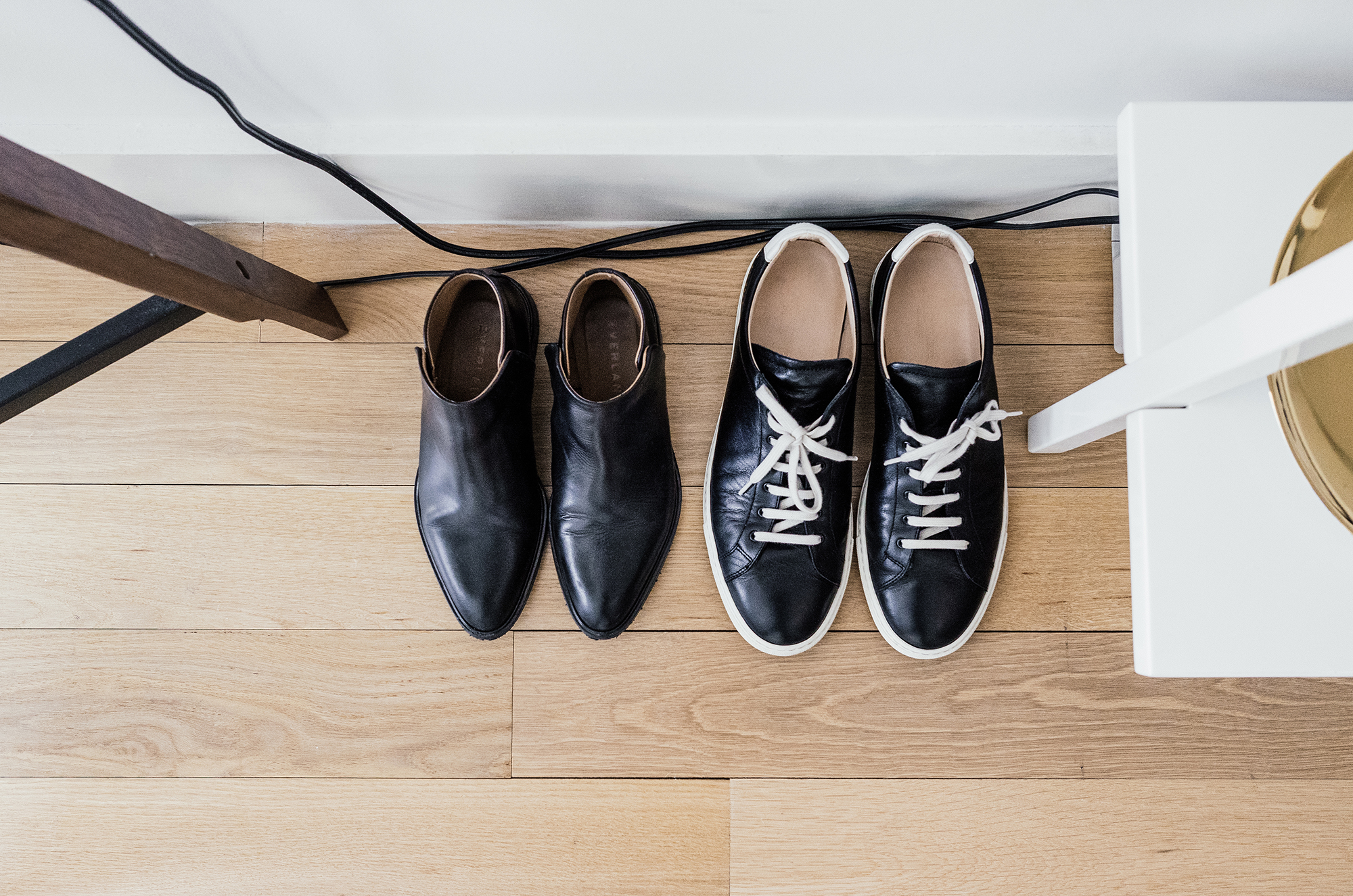 Everlane Boots ,  Common Projects Sneakers
