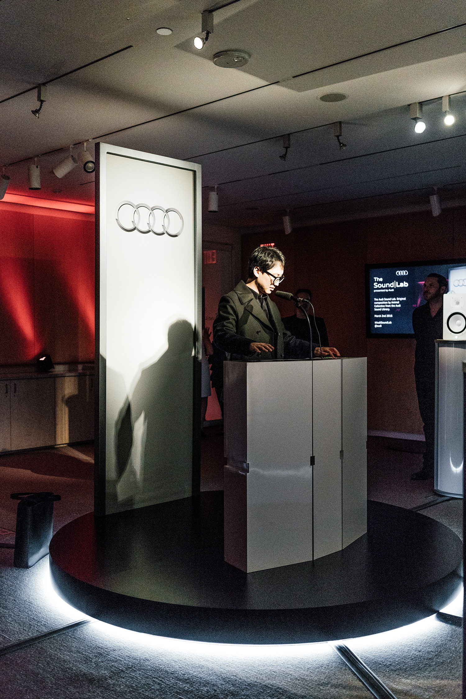 Audi  x Animal Collective, The Sound Lab at  The Whitney