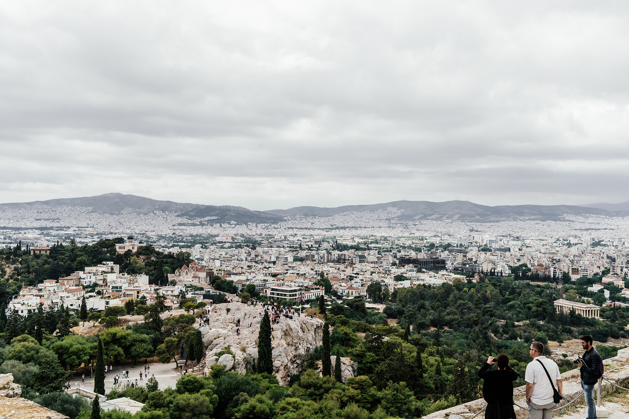 Views from the  Acropolis