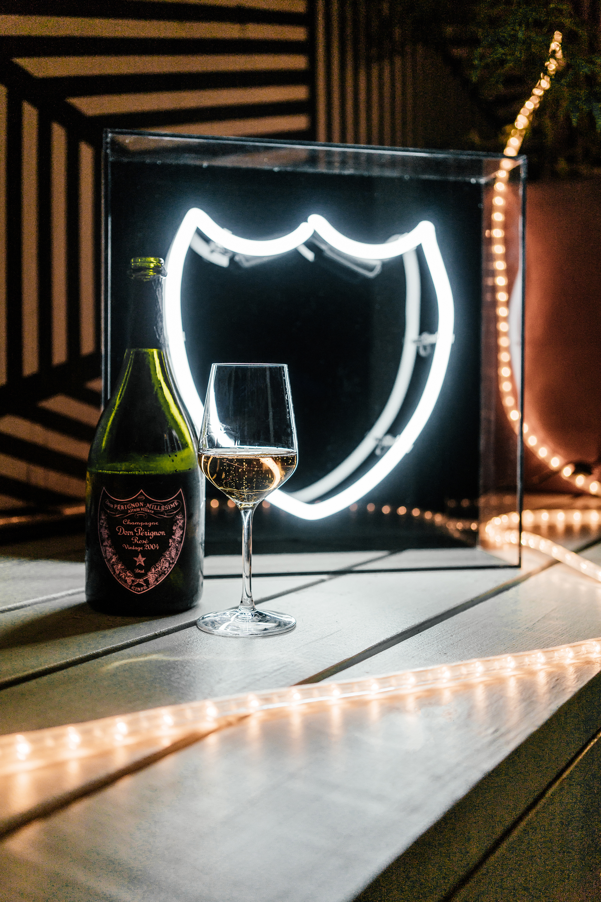 Dom Perignon  Dinner at  Loosie Rouge