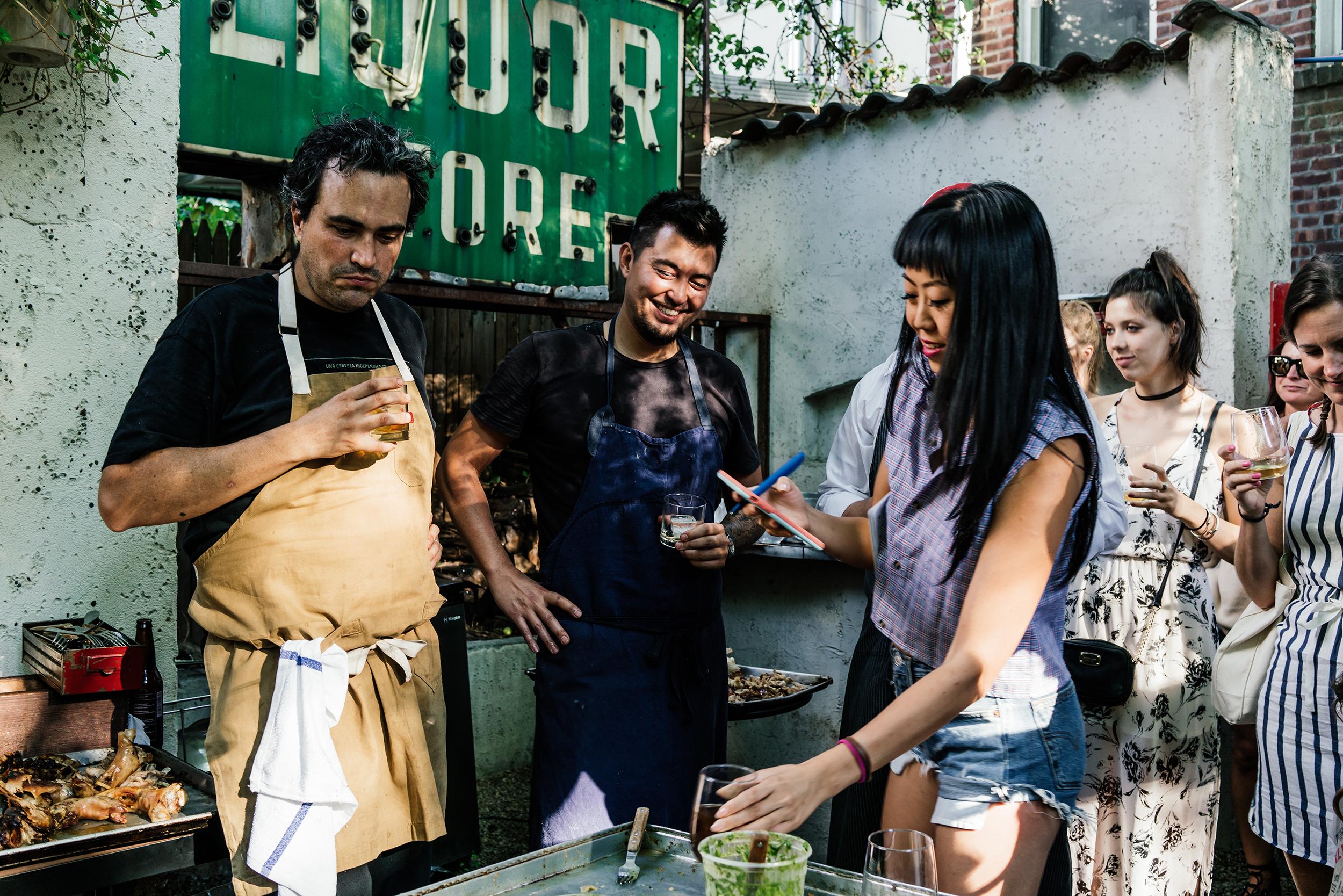 Sunday Asados w/  Leiti Hsu  and  Chef Nick Anderer  at  Colonia Verde