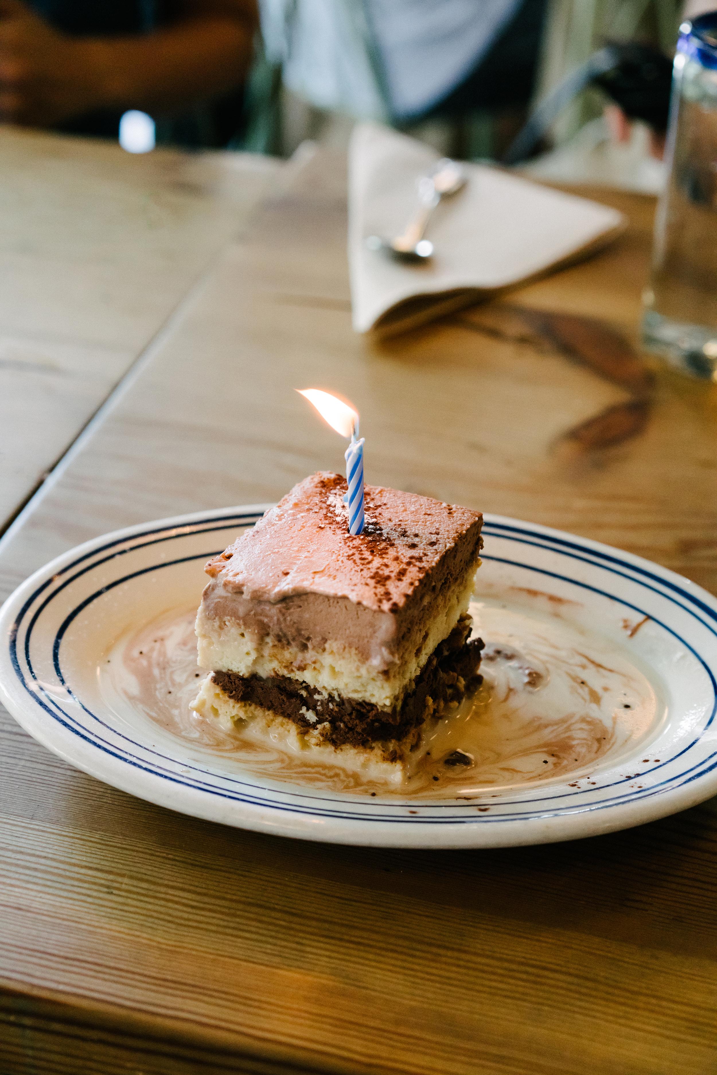 Birthday brunch w/ friends at  Rosie's