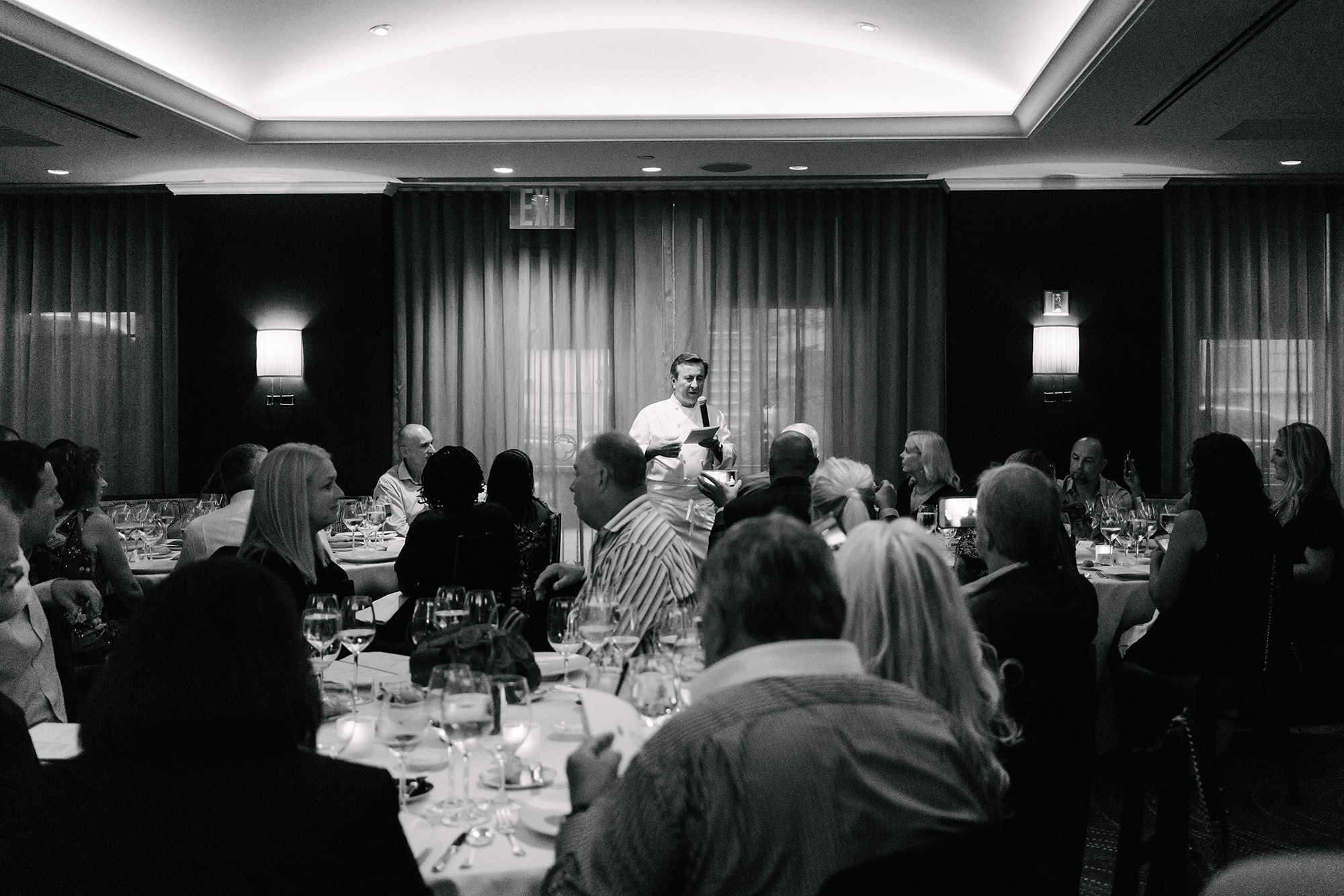 Dinner with Chef Daniel Boulud at  DANIEL  (Special thanks to  Ritz Carlton )