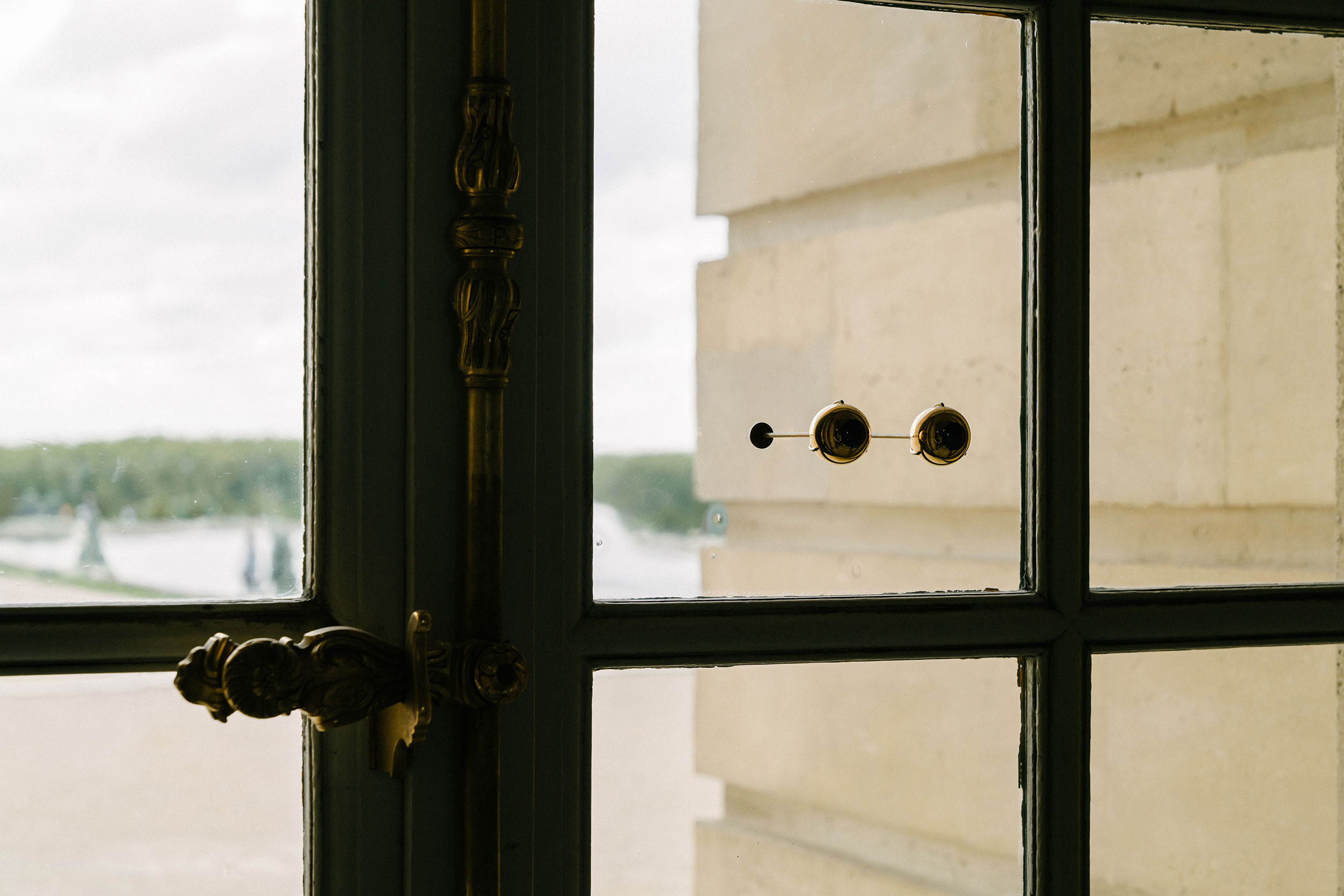 The gaze of Versailles, 2016 by Olafur Eliasson
