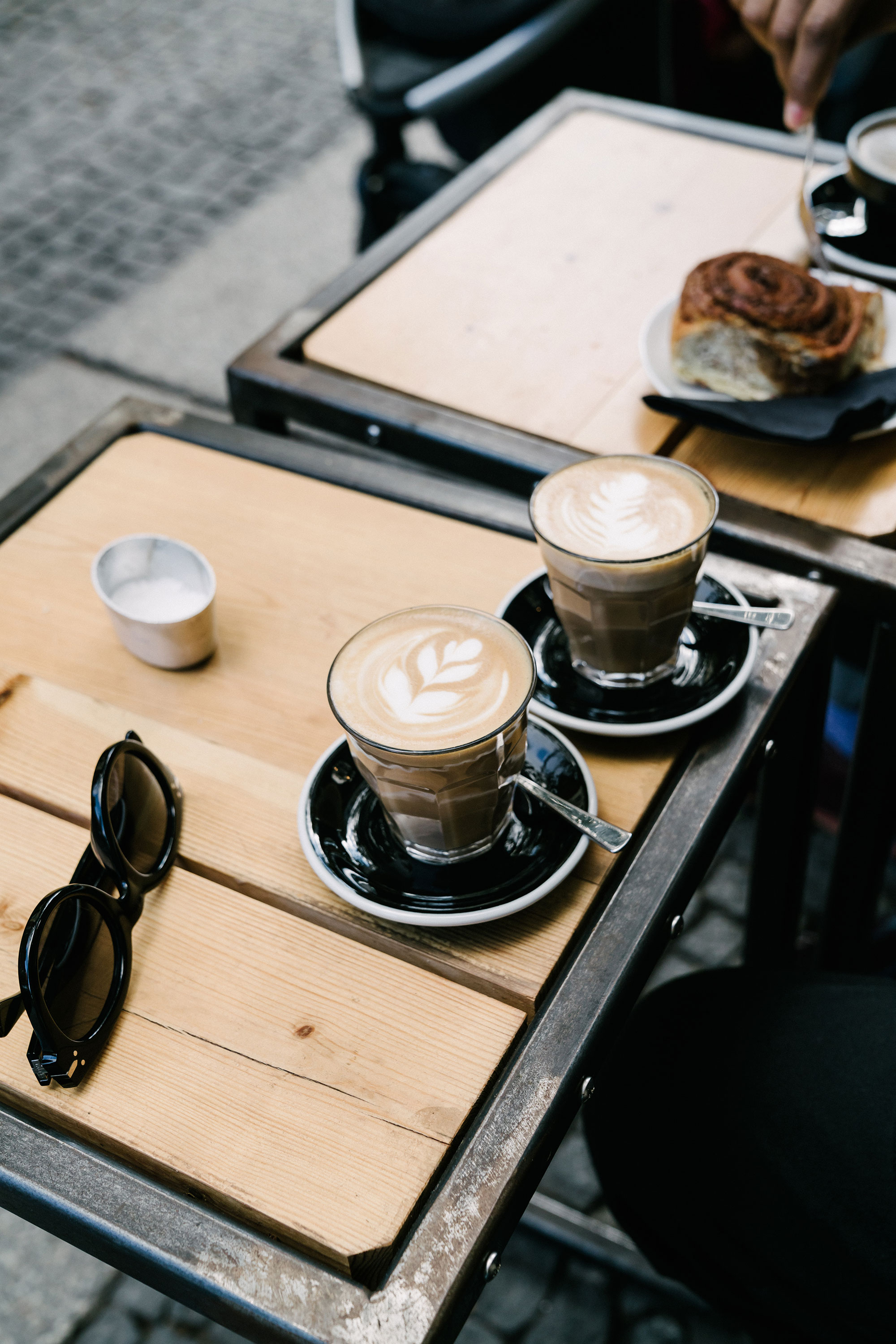 Coffee w/ James at  KaffeeBar