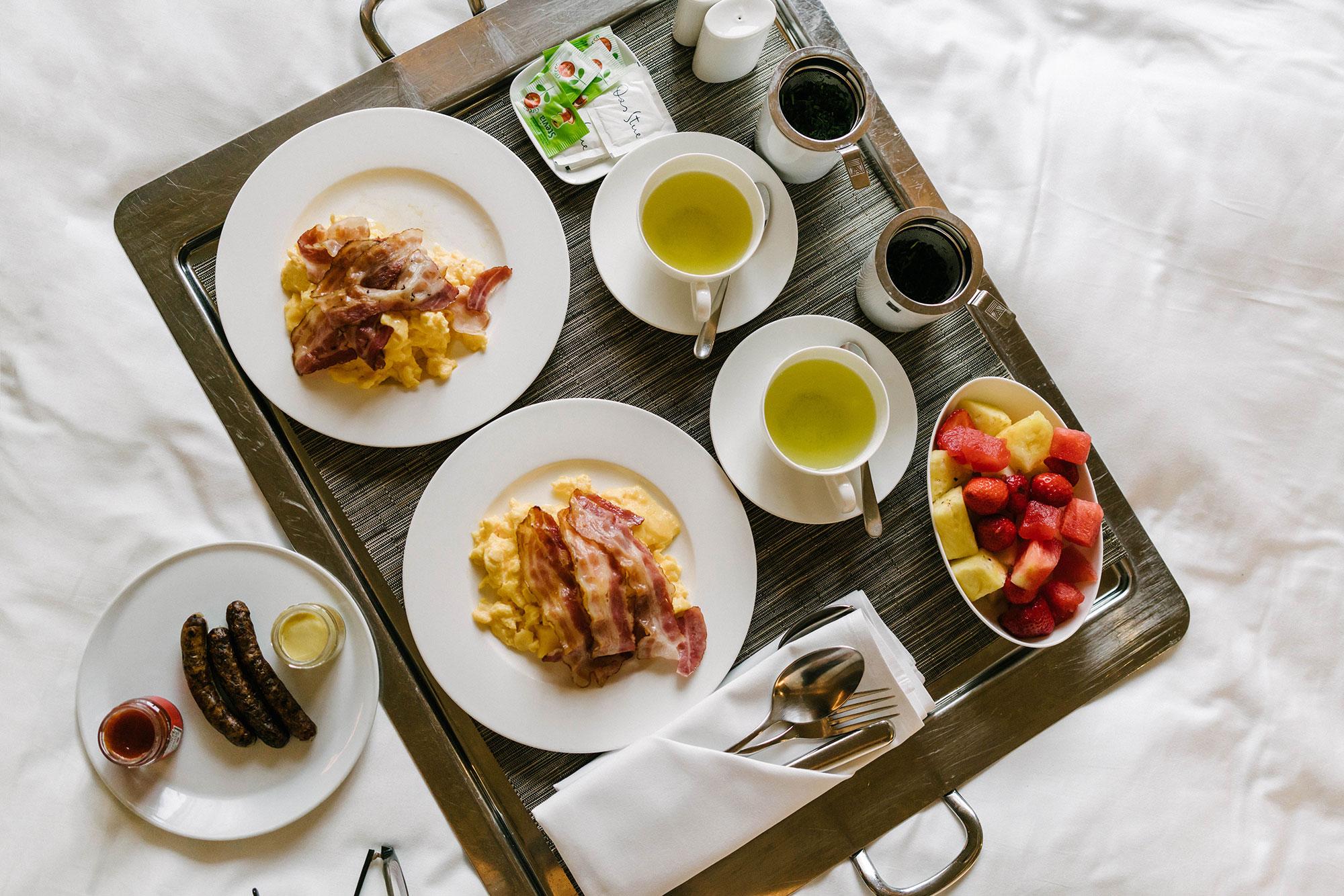 Room Service breakfast morning of departure