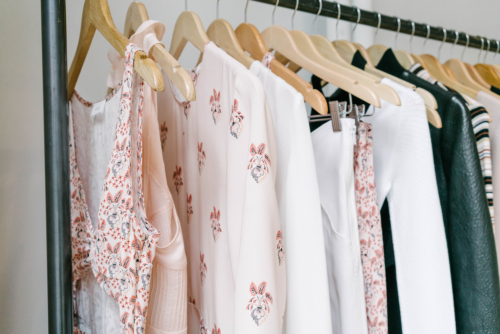 A visit to the  A.L.C.  Showroom to preview the SS2017 Collection