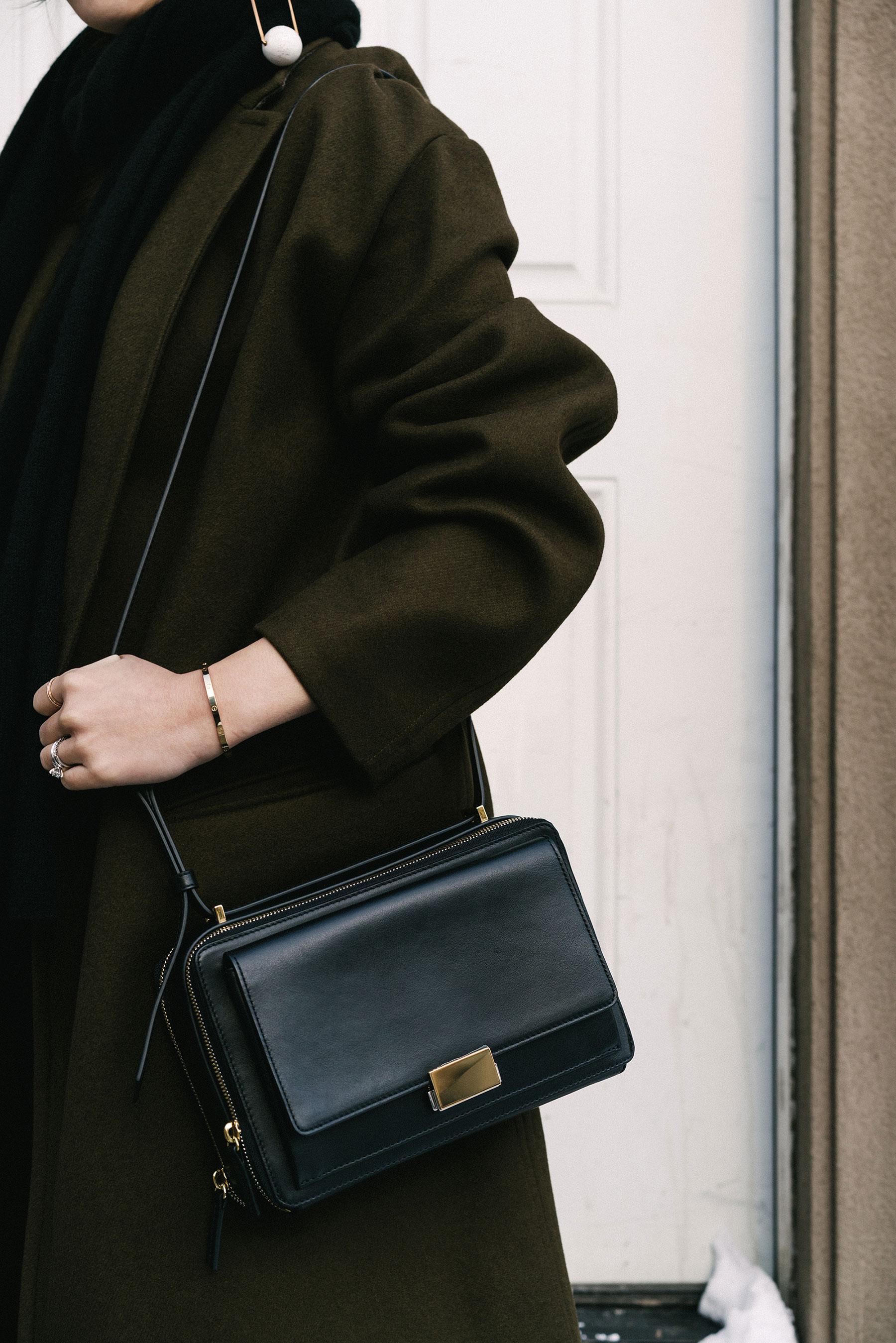 Isabel Marant Coat ,  Want Les Essentiels Bag ,  Stella McCartney Earrings ,  Cartier Bracelet