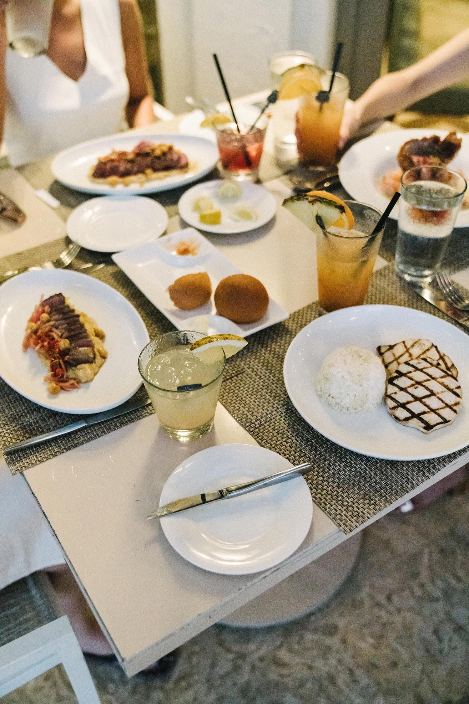 Dinner at  Beach Club