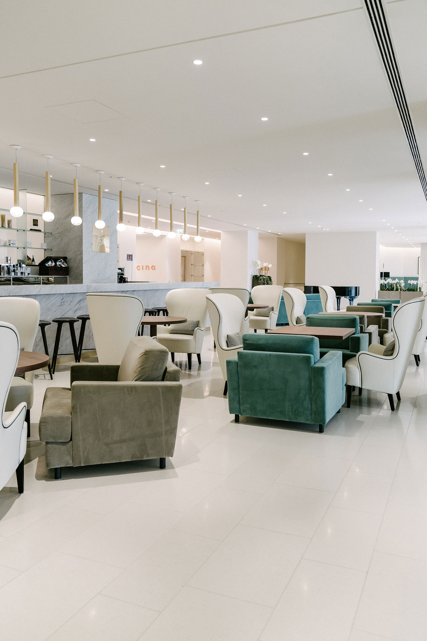 JW Marriott Venice Resort and Spa  lounge area near reception
