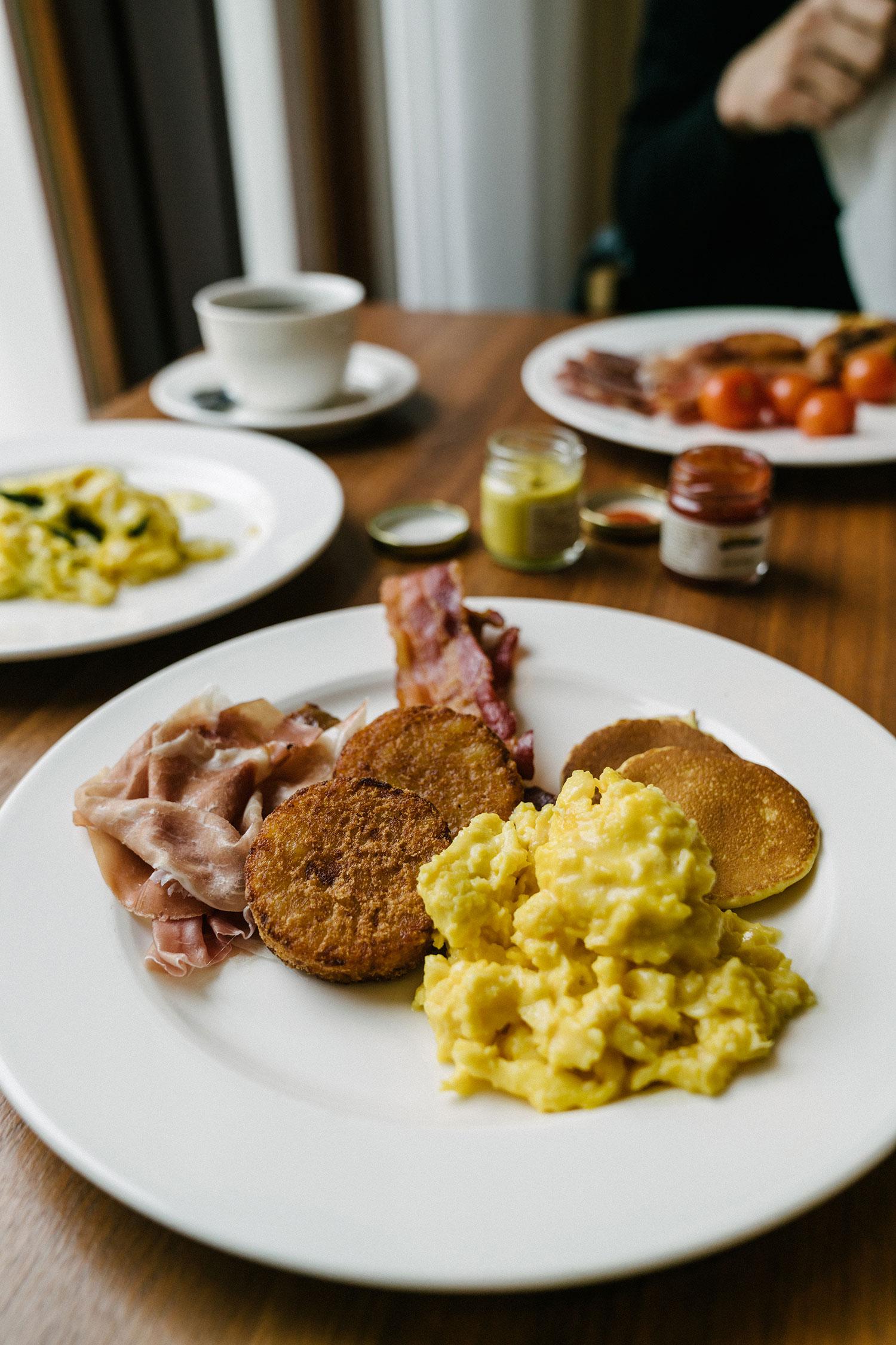 Daily breakfast buffet at  Cucina Daily Restaurant