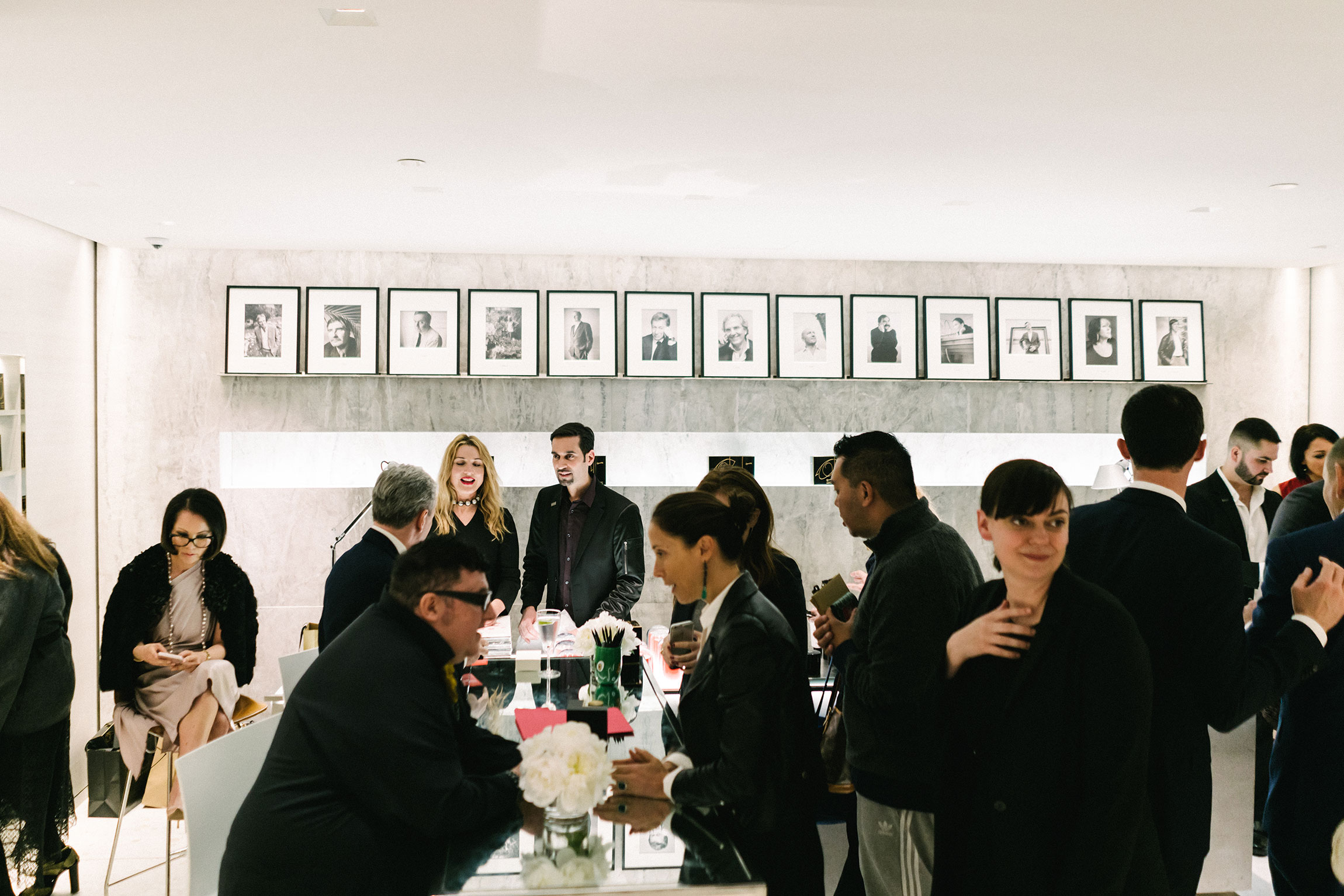Frédéric Malle and Alber Elbaz  'Superstitious' fragrance collaboration  launch at  Barneys New York