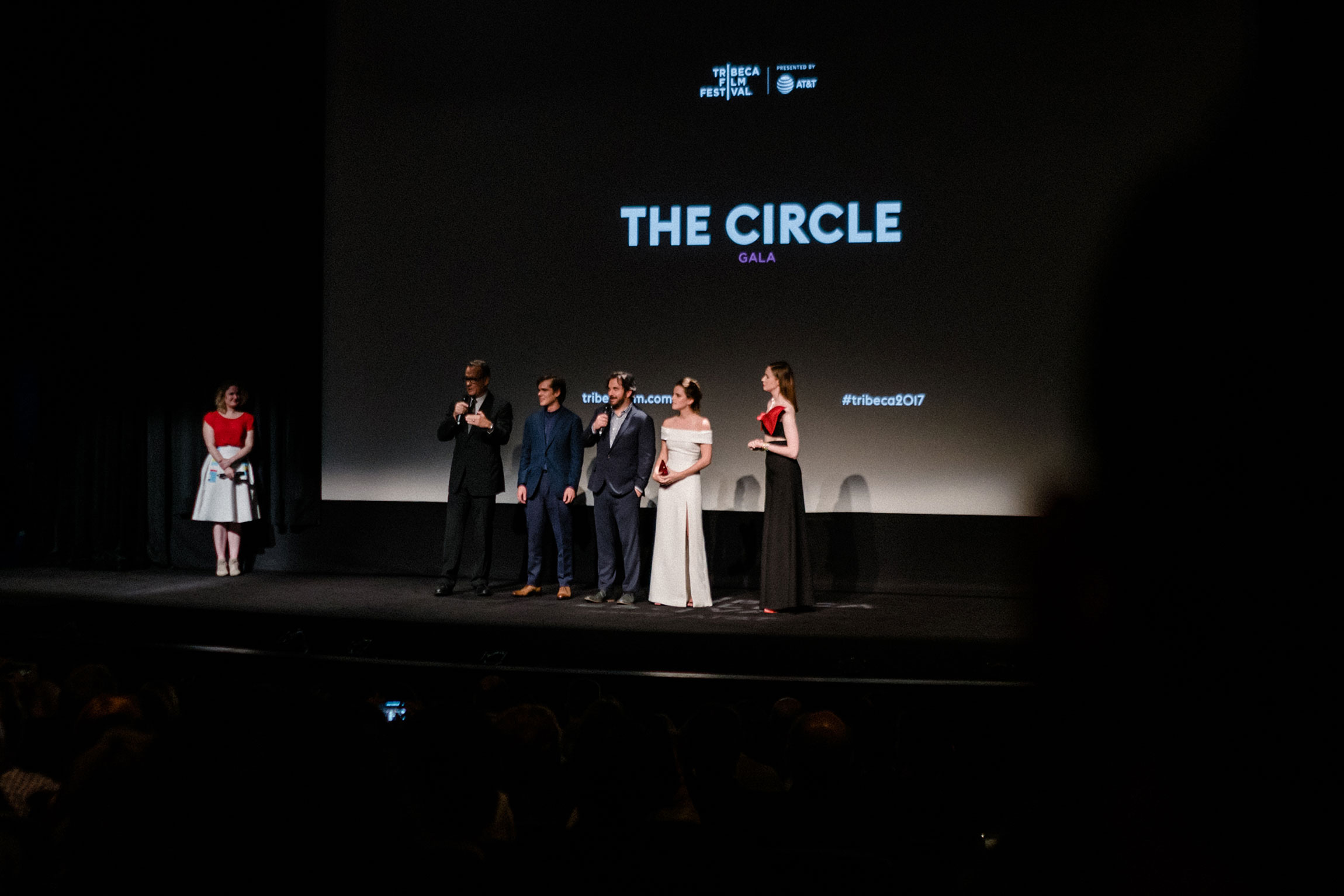 World premiere red carpet gala for The Circle thanks to  Nexxus