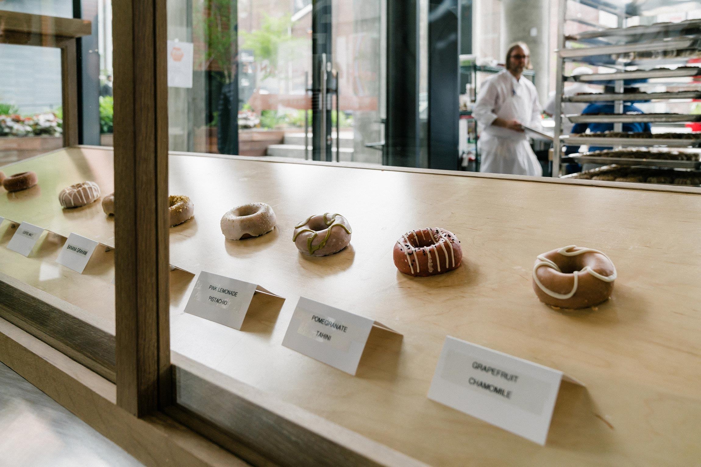 Du's Donuts  by Chef Wylie Dufresne (that's him, there!)