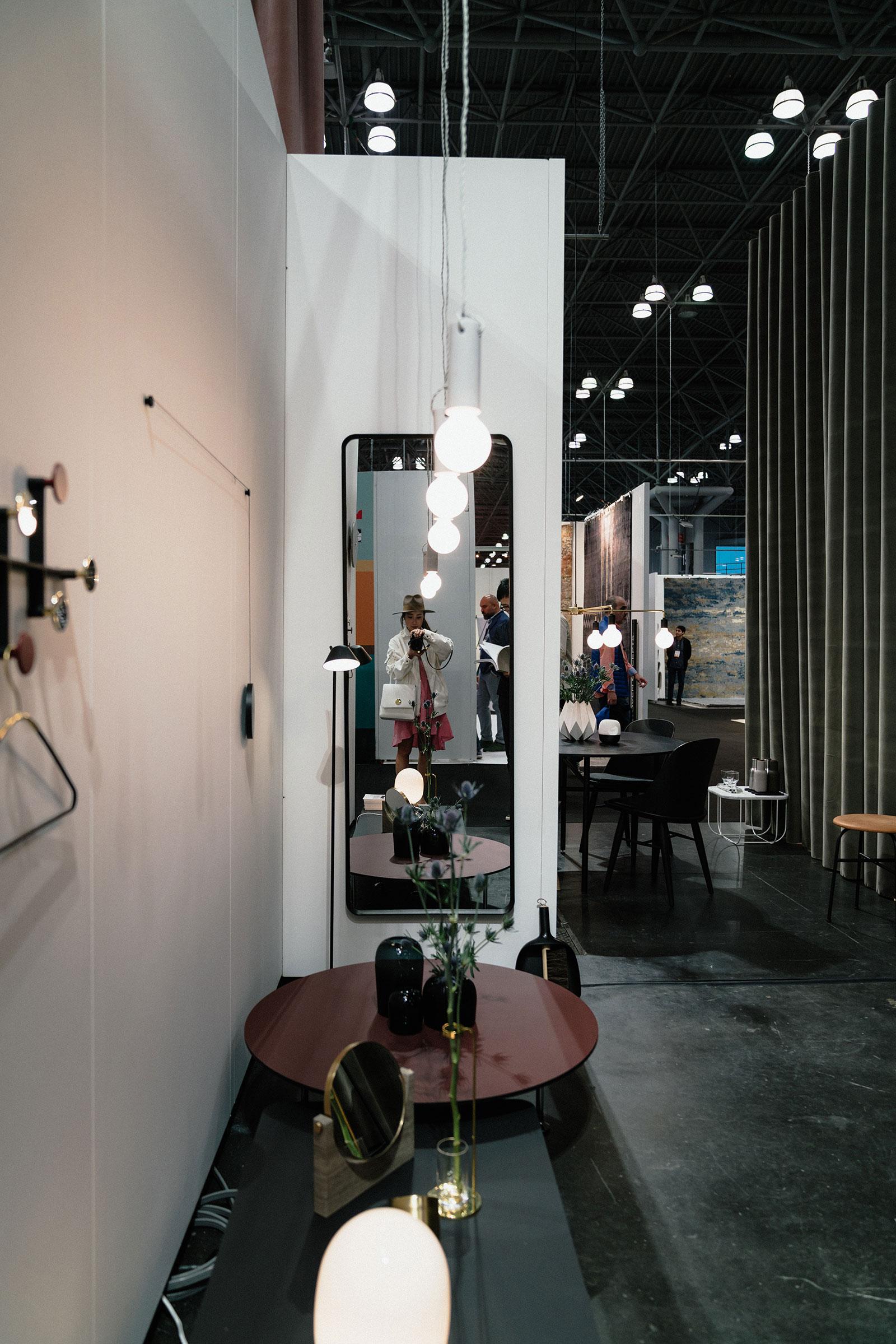 Menu  at  ICFF Furniture Fair 2017