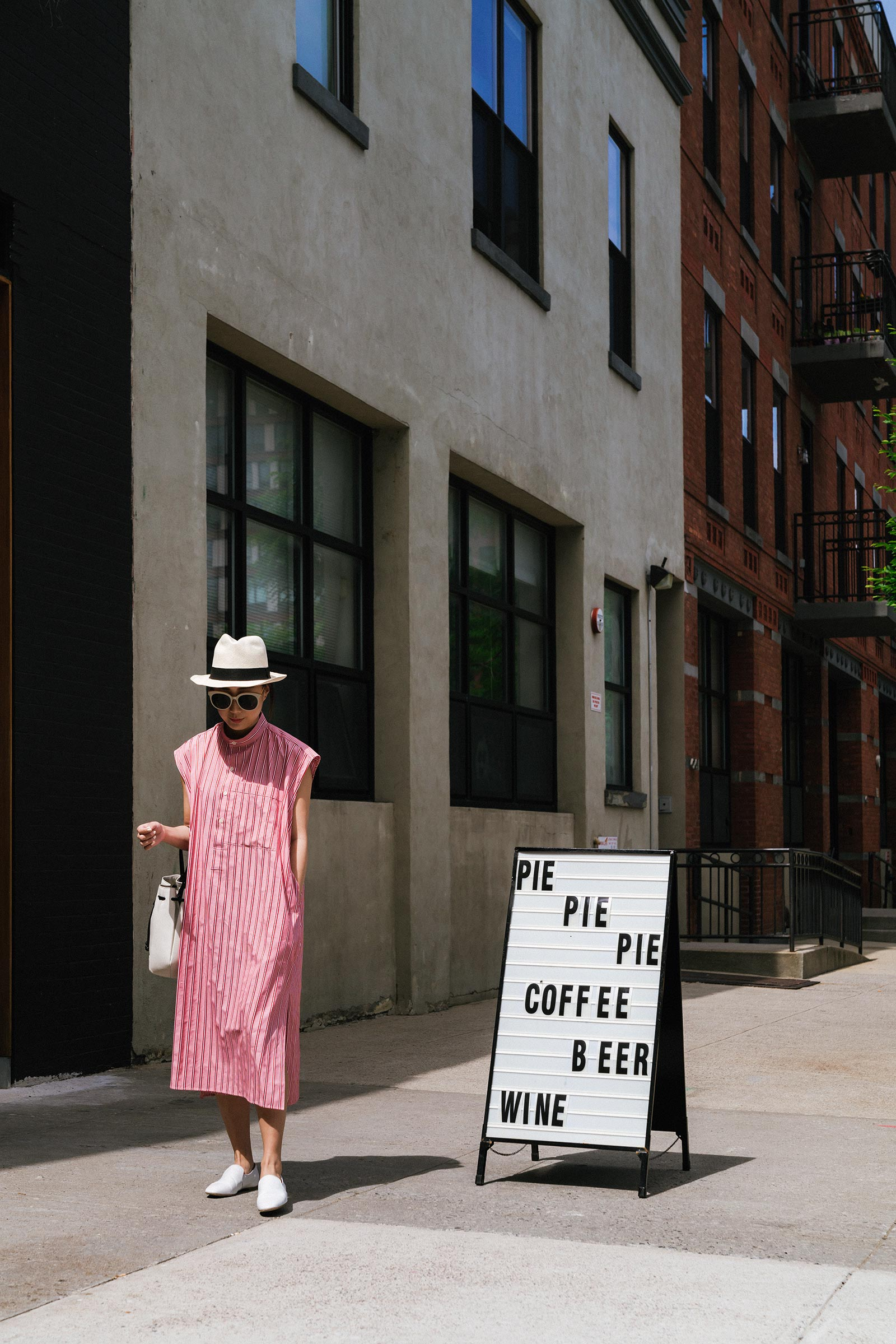 Pie shop  (and really good lattes) in the new neighborhood!