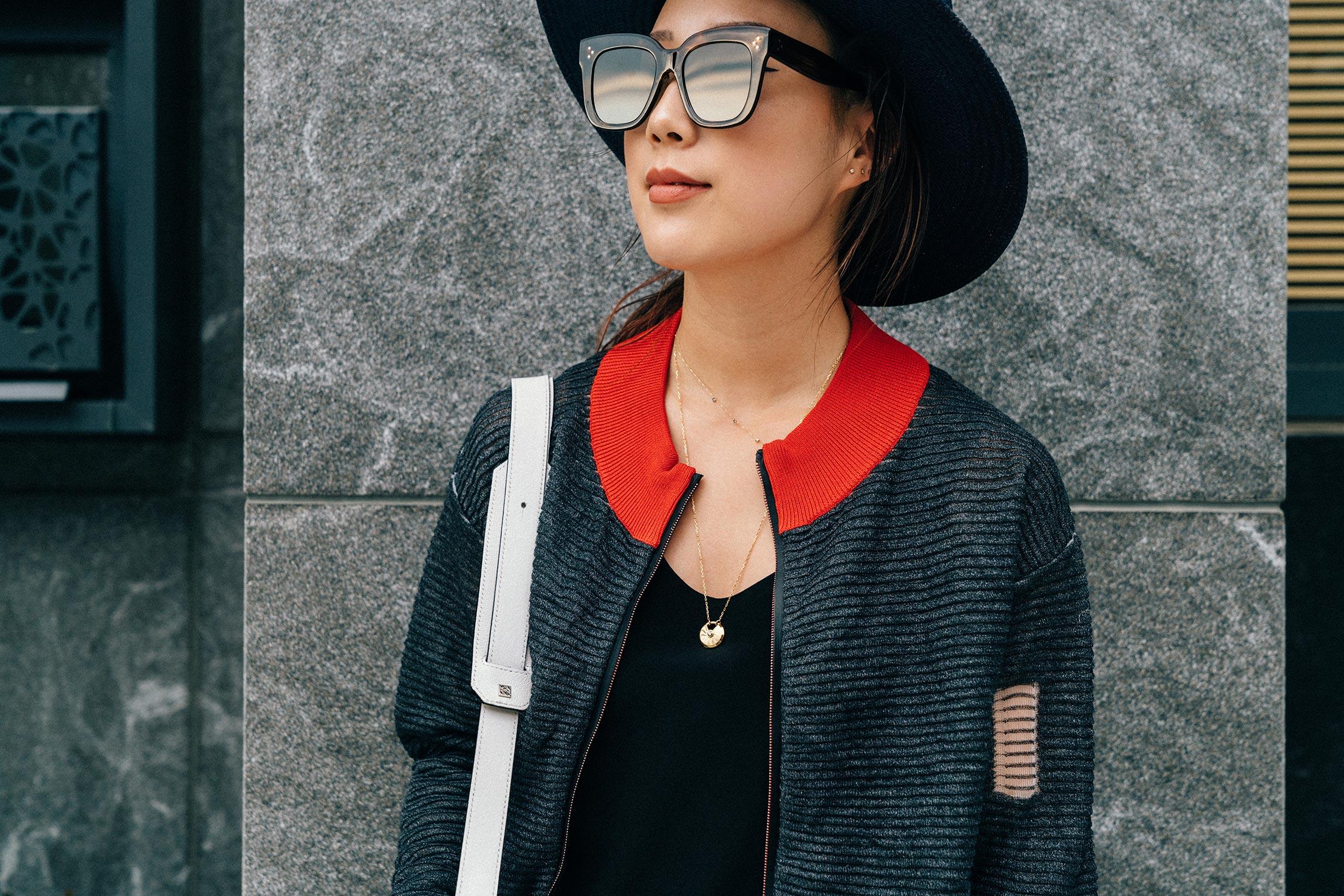 PH5 Jacket ,  Cartier Necklace , Céline Sunglasses