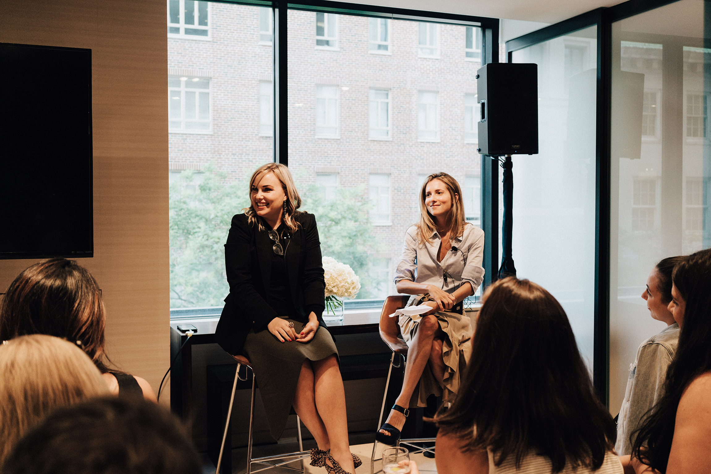 Who What Wear  Trend Panel w/ Hilary Kerr and Marina Larroude