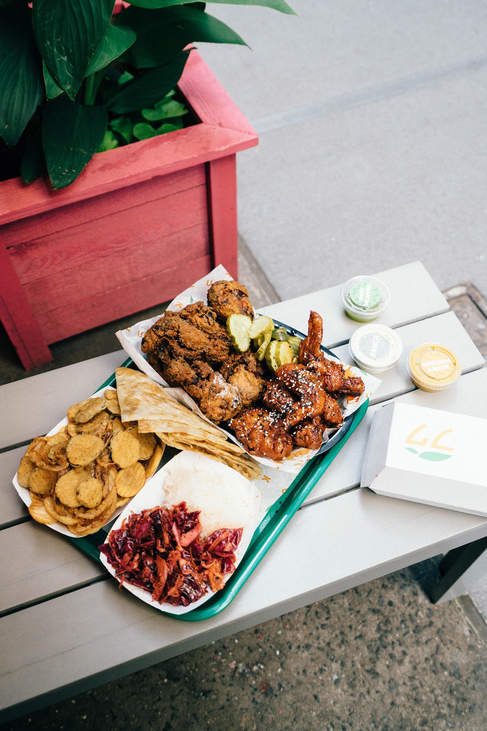 Chimek fried chicken at  Fuku Fidi