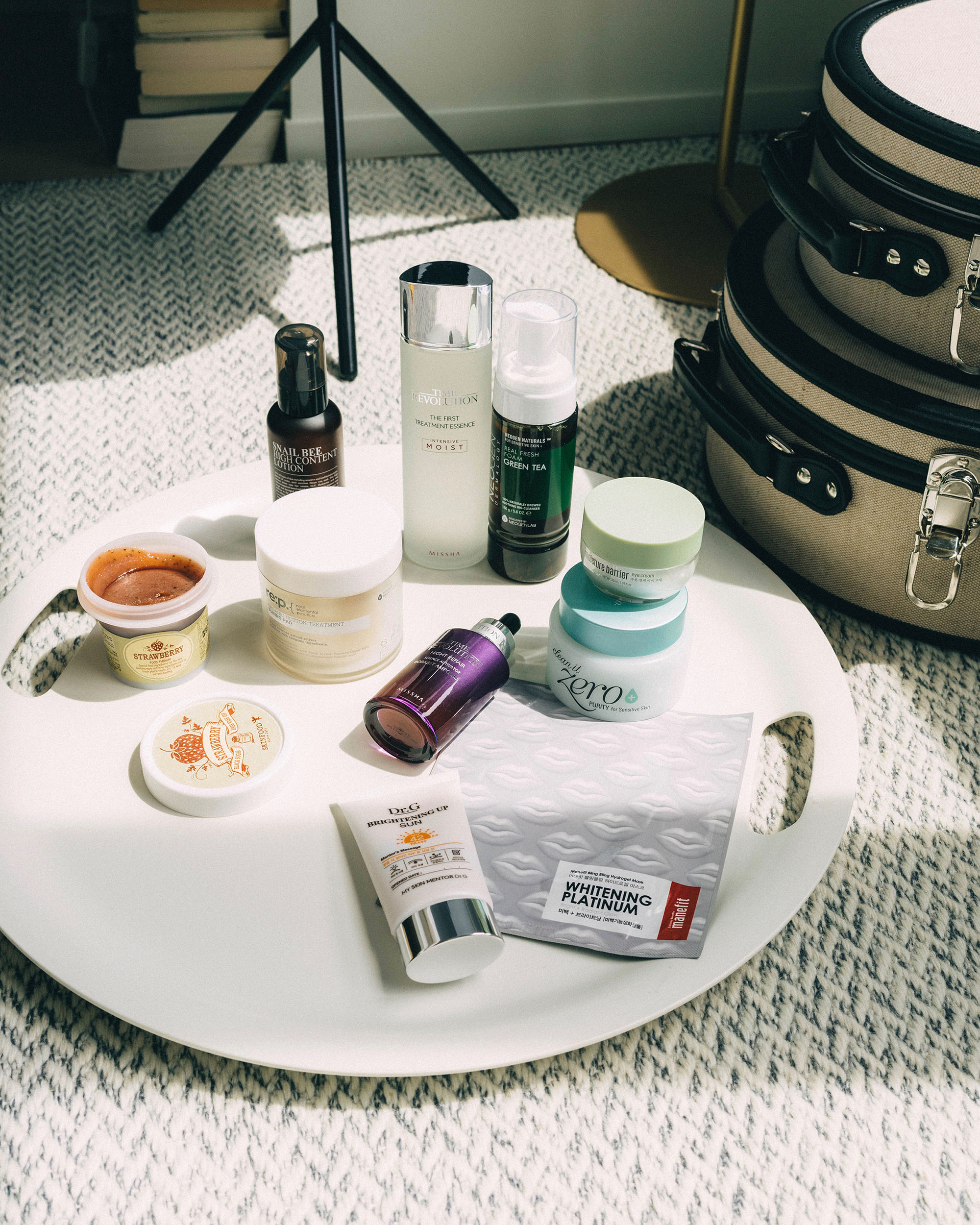 10-Step Skincare Curation  from  Sokoglam