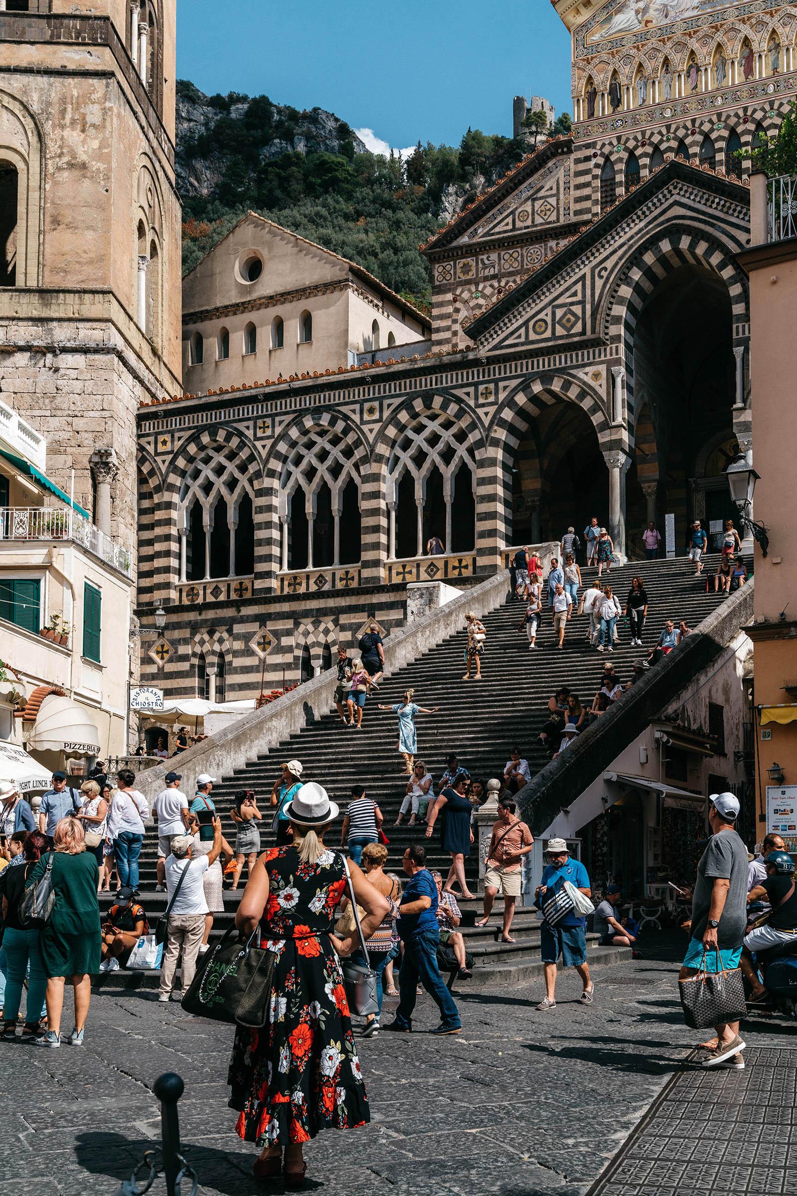 Duomo di Sant'Andrea in Amalfi, the main town of the coast.