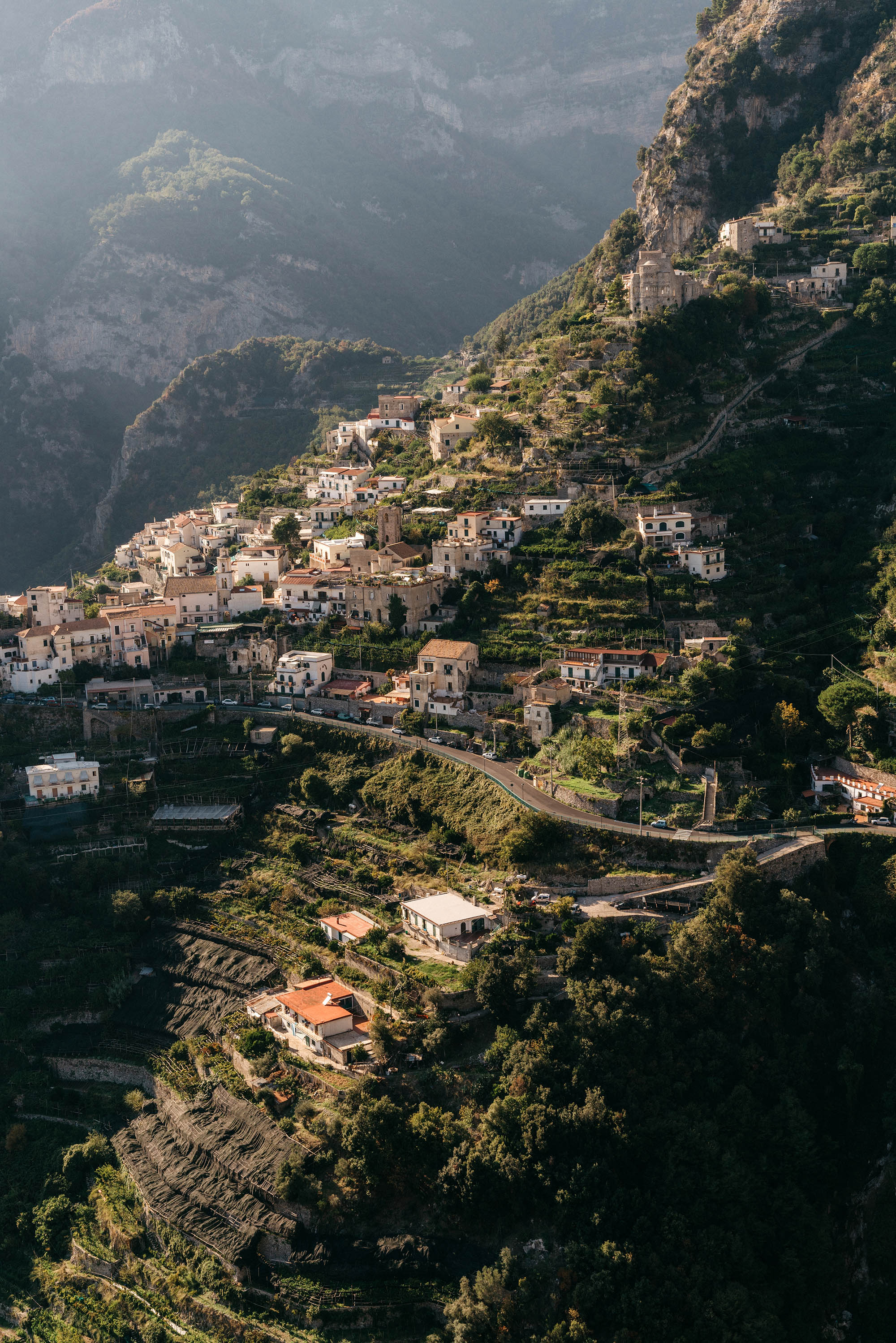 Views from Scala (the oldest village on the Amalfi Coast) from the quaint town of Ravello