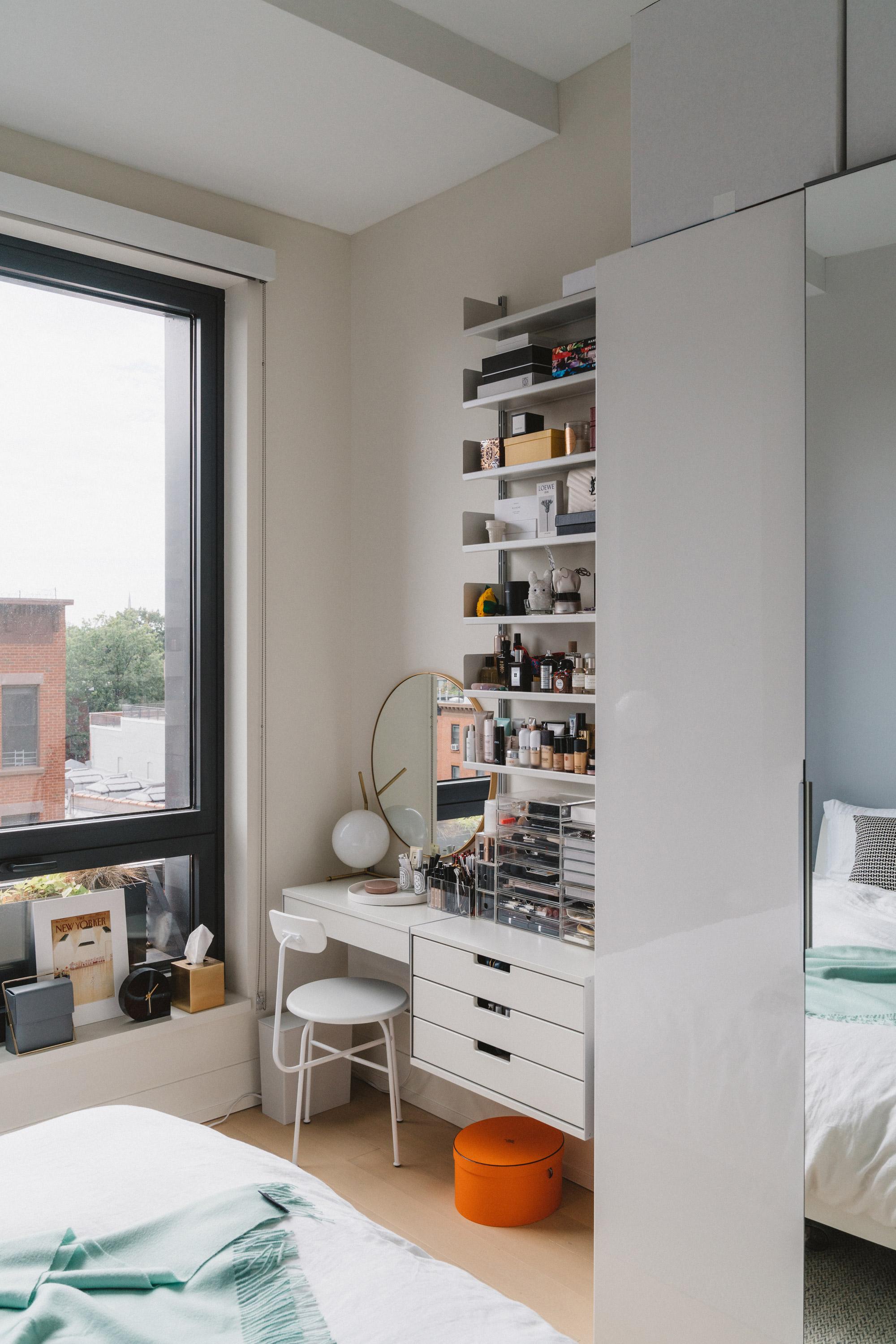 My little corner of happy (aka where I get ready every morning!)