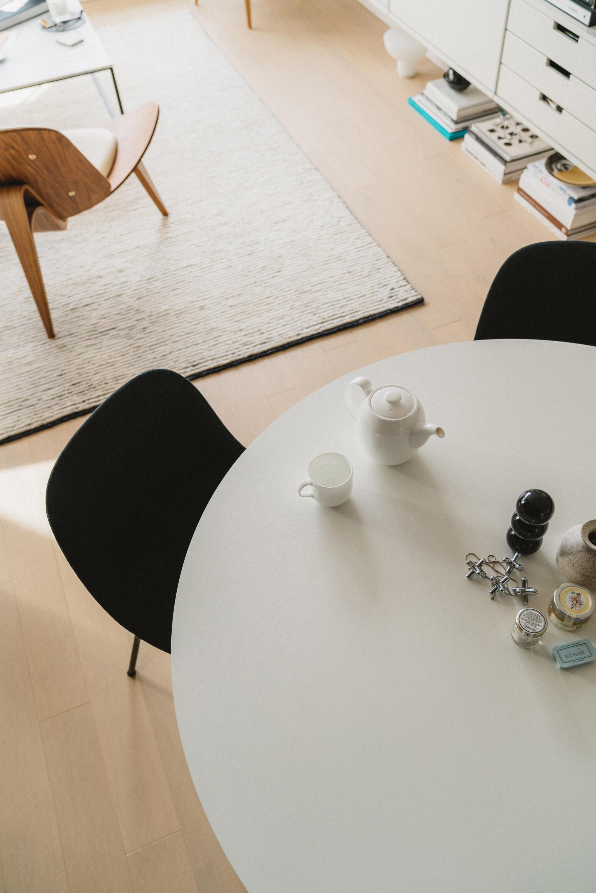 Muuto Chairs ,  Menu Table