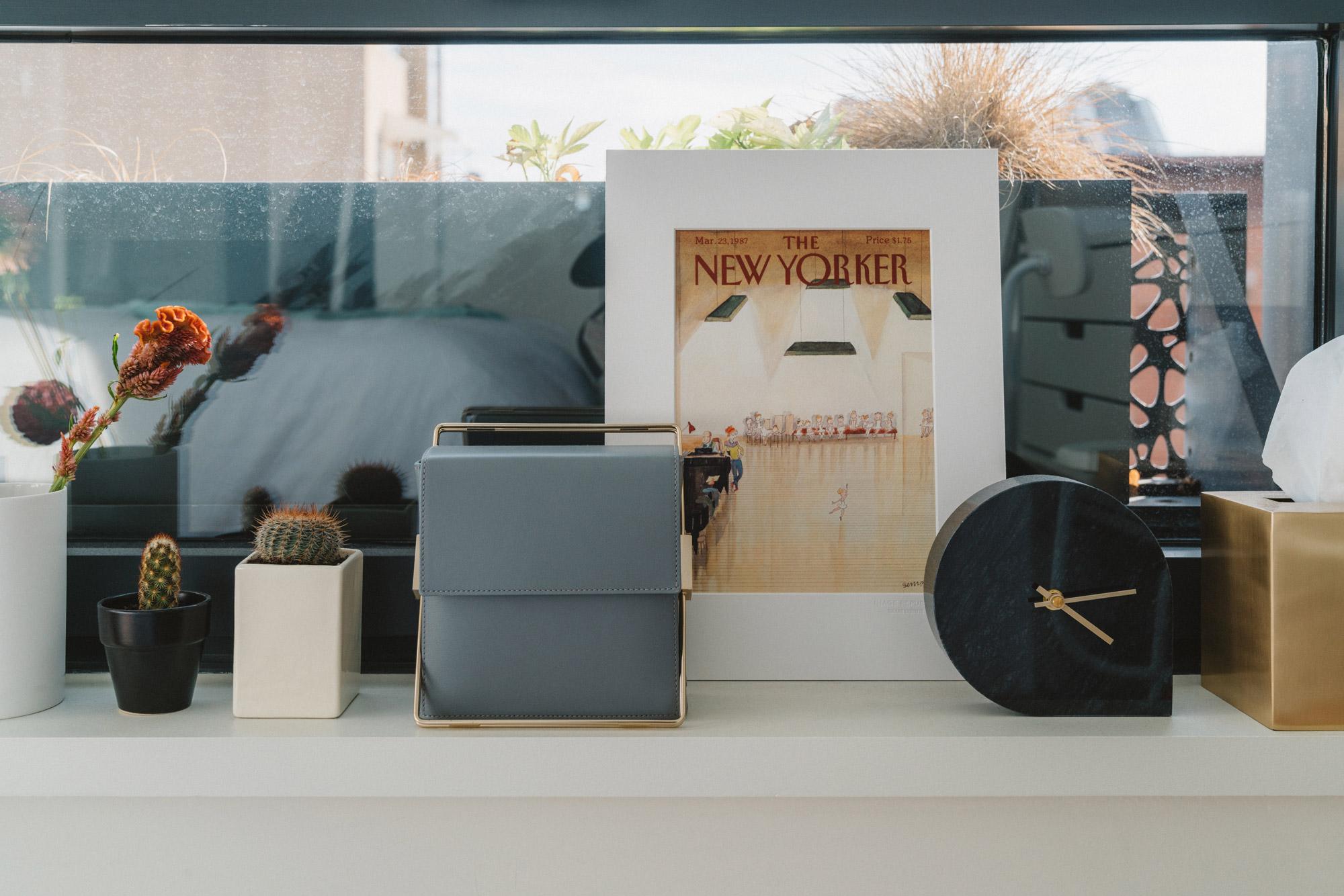 Lautem Bag ,  AYTM Clock ,  Tenfold Tissue Box