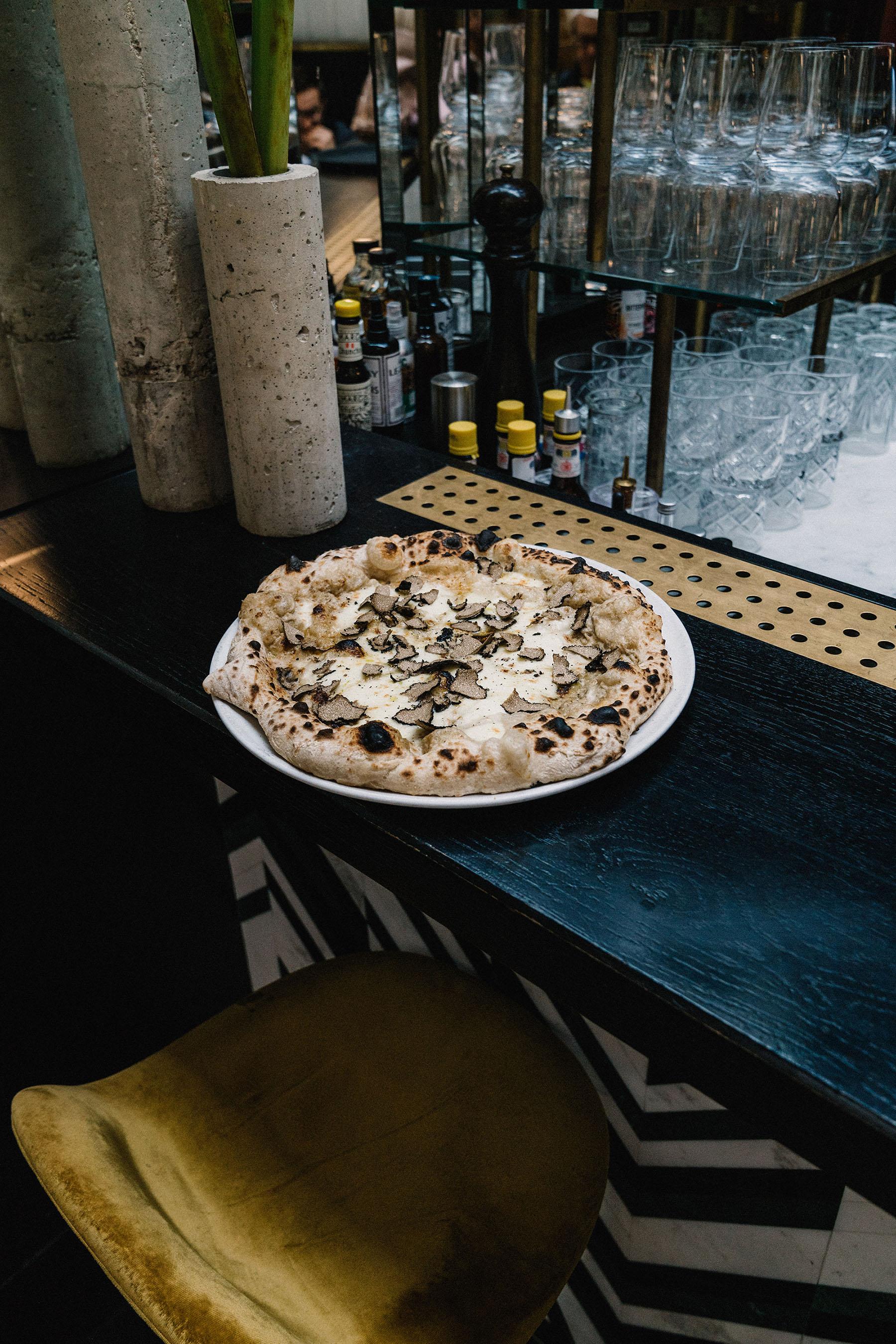 Truffle Pizza at  Daroco