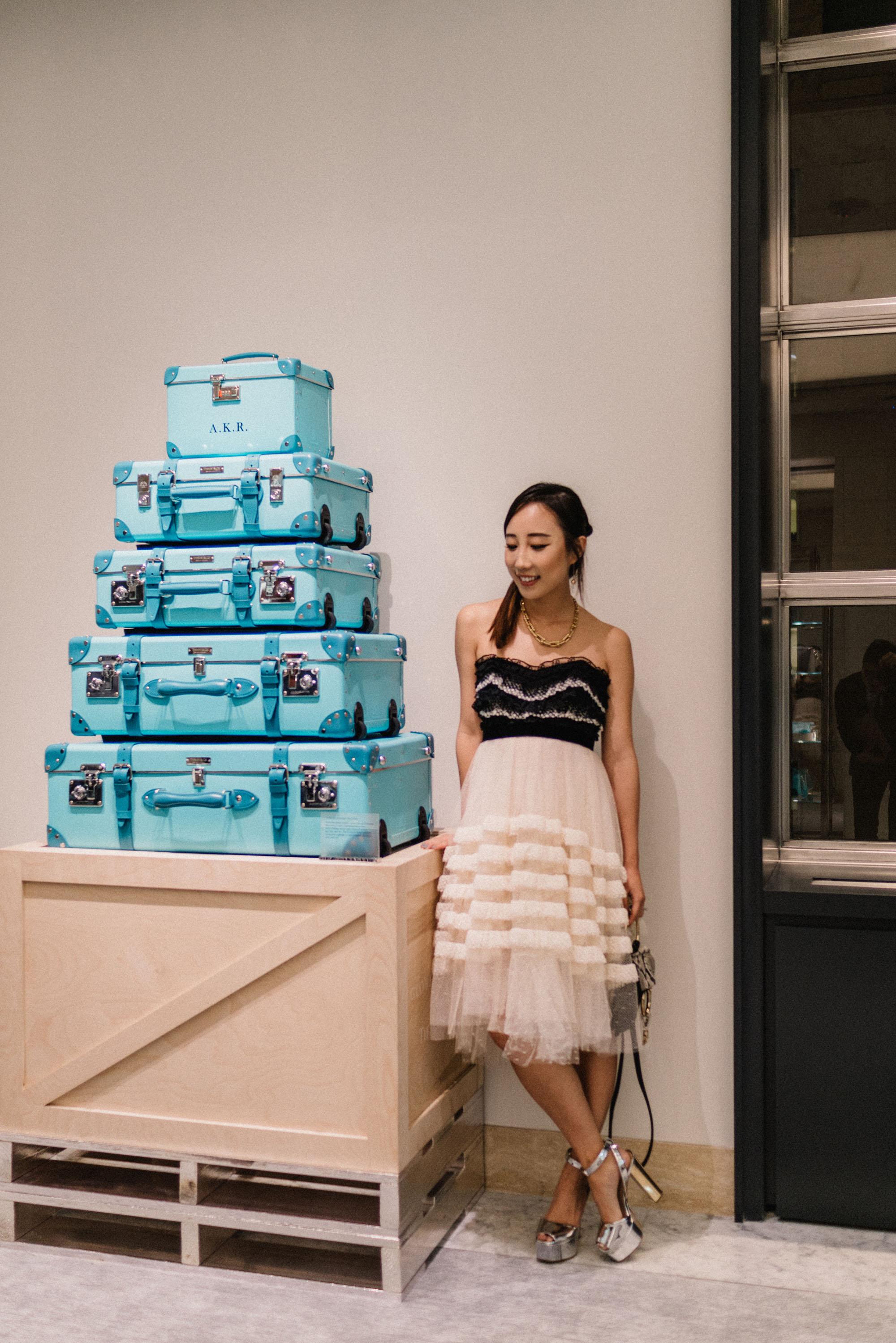 Philosophy di Lorenzo Serafini Dress,  Giuseppe Zanotti Shoes ,  Tiffany Necklace