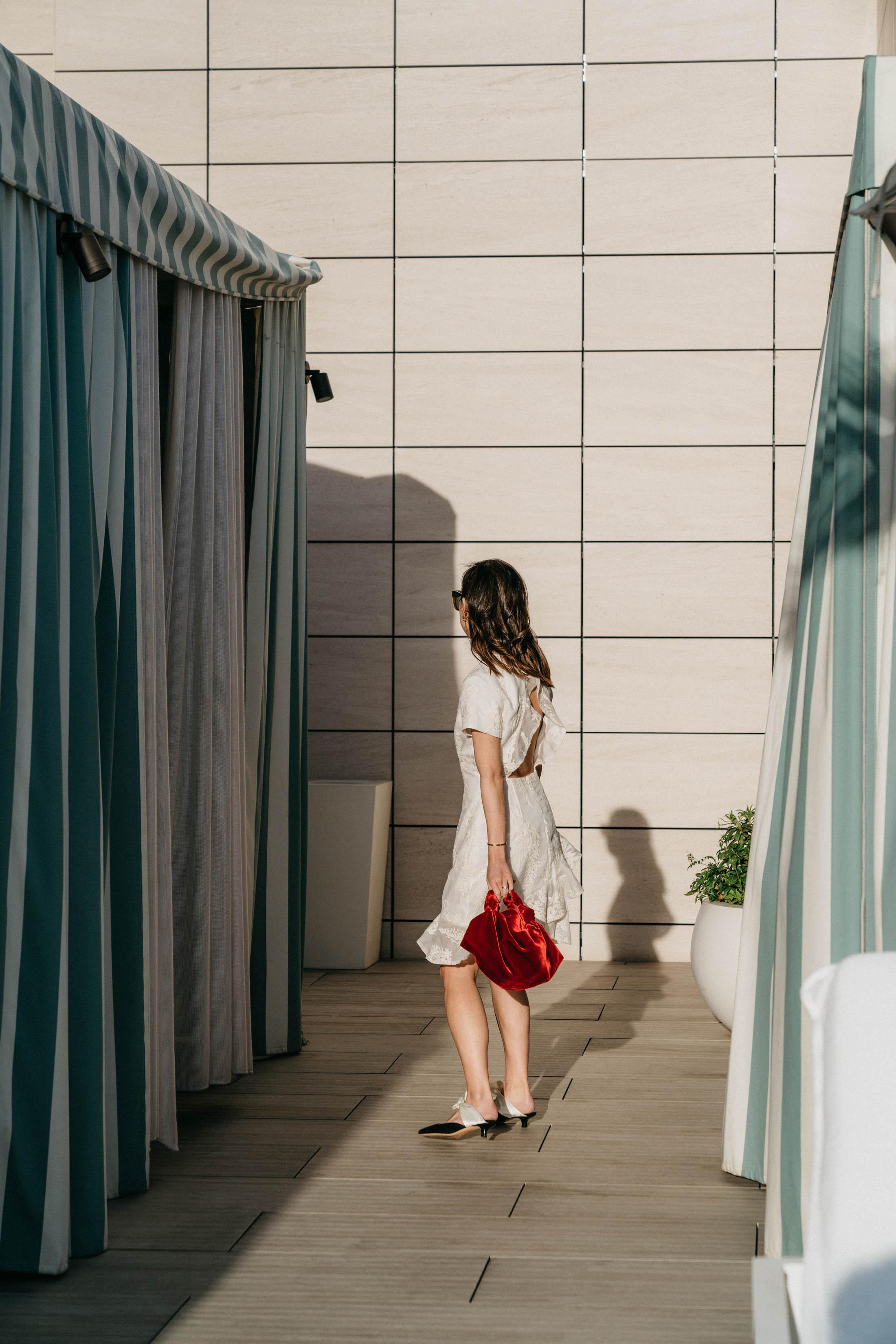 Zimmermann Dress ,  The Row Bag ,  The Row Shoes