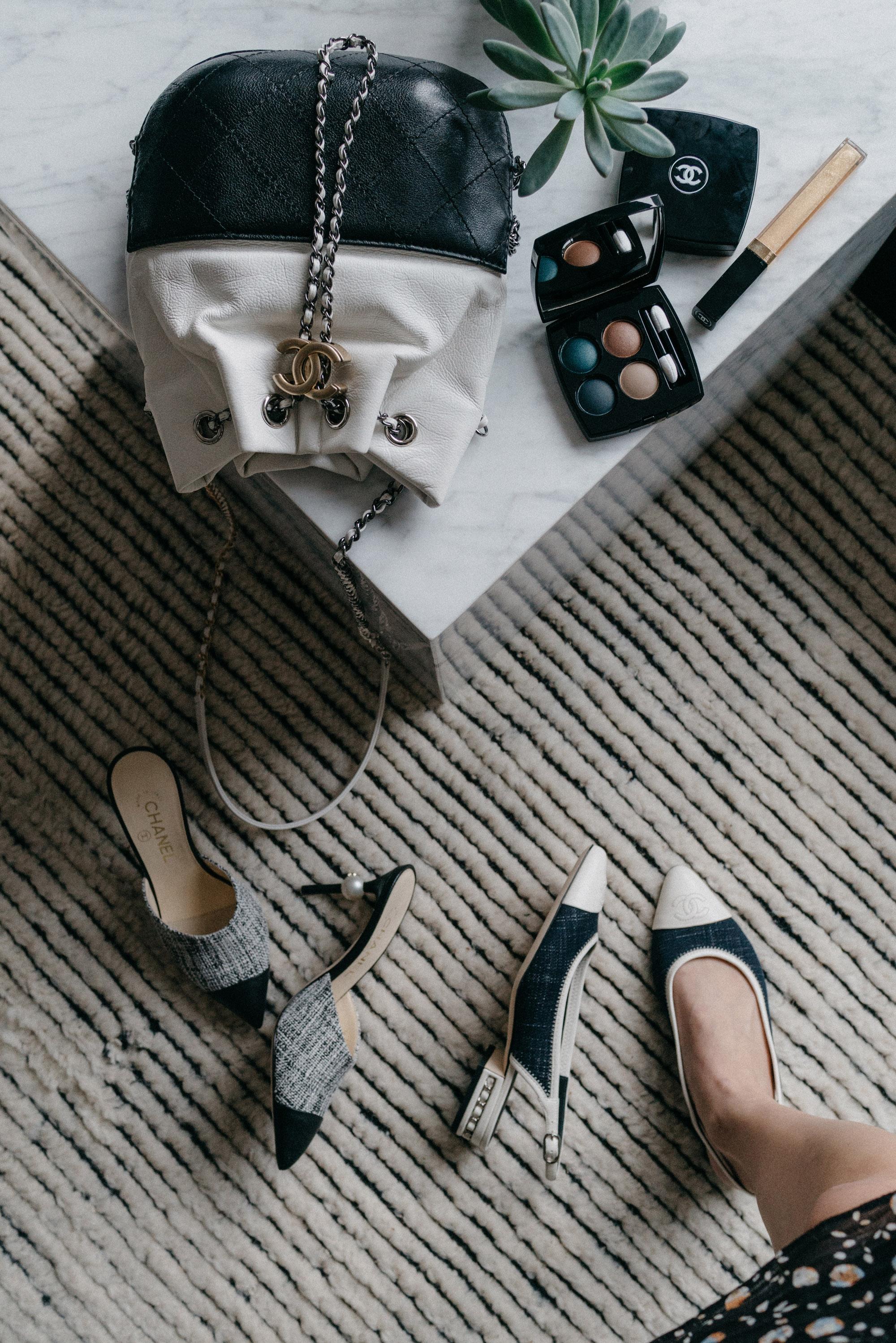 Chanel Bag, Chanel Shoes,  Chanel Eyeshadow ,  Chanel Gloss