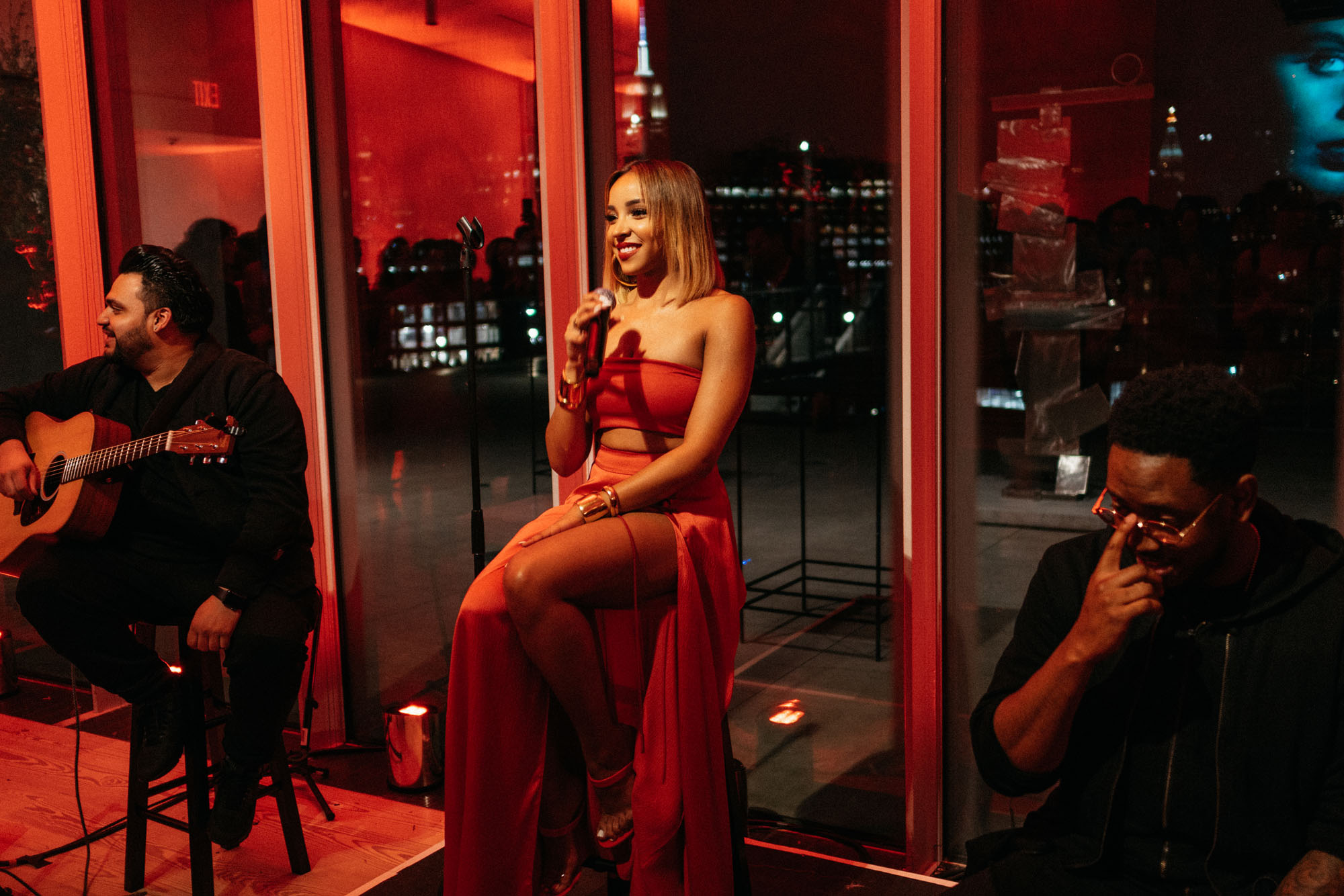 Live performance by  Tinashe  at the  Whitney Museum of American Art