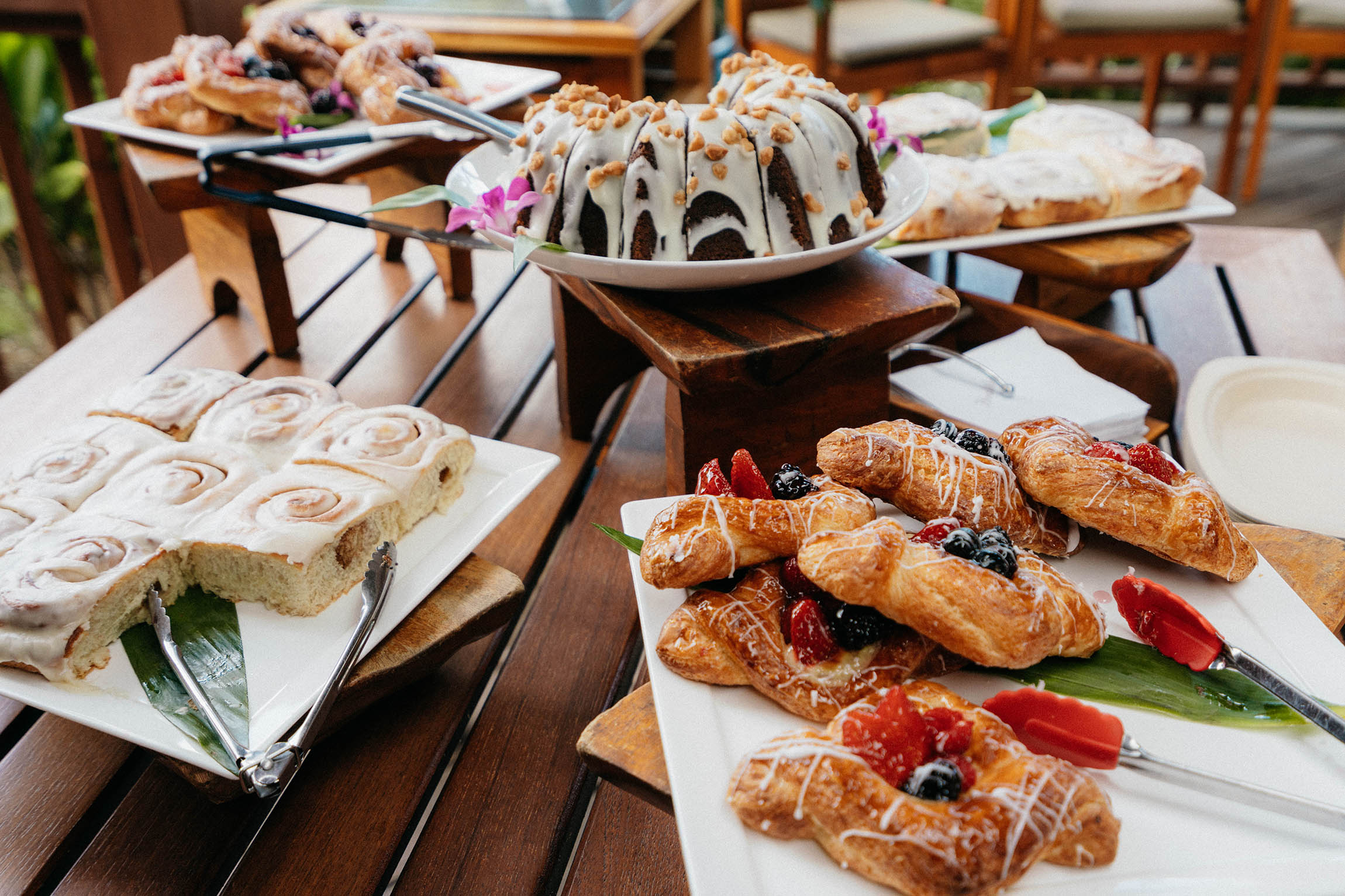 Coffee and Talk Story with the chefs at  Hualalai Trading Company