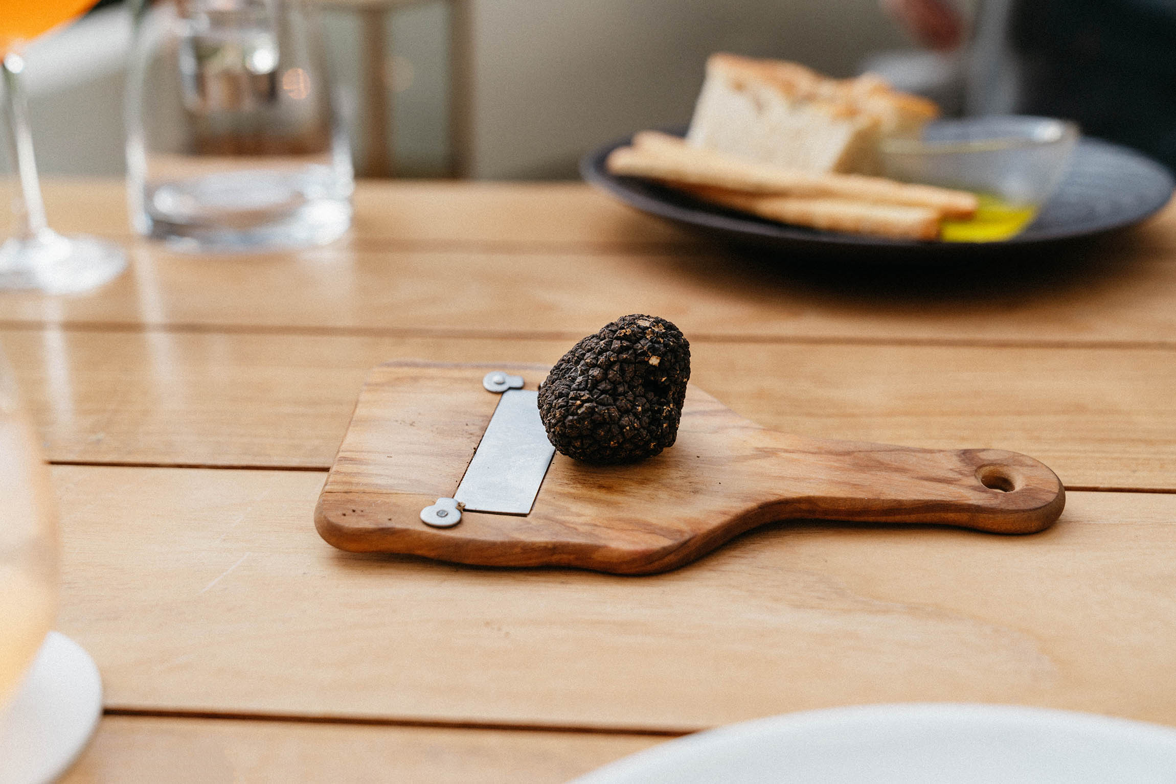 Truffle for our pasta